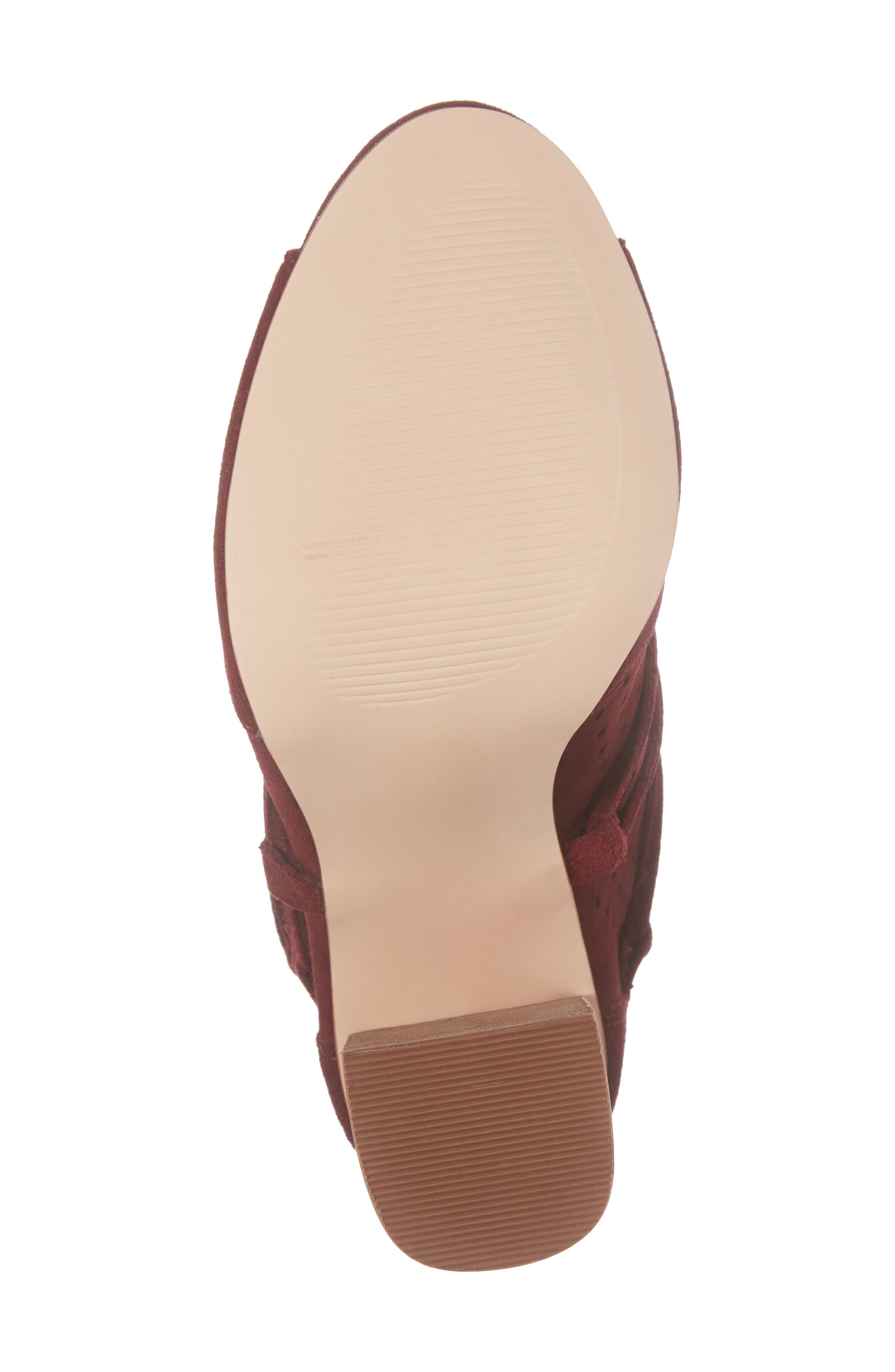 Alternate Image 6  - Very Volatile Kalio Perforated Open Toe Bootie (Women)