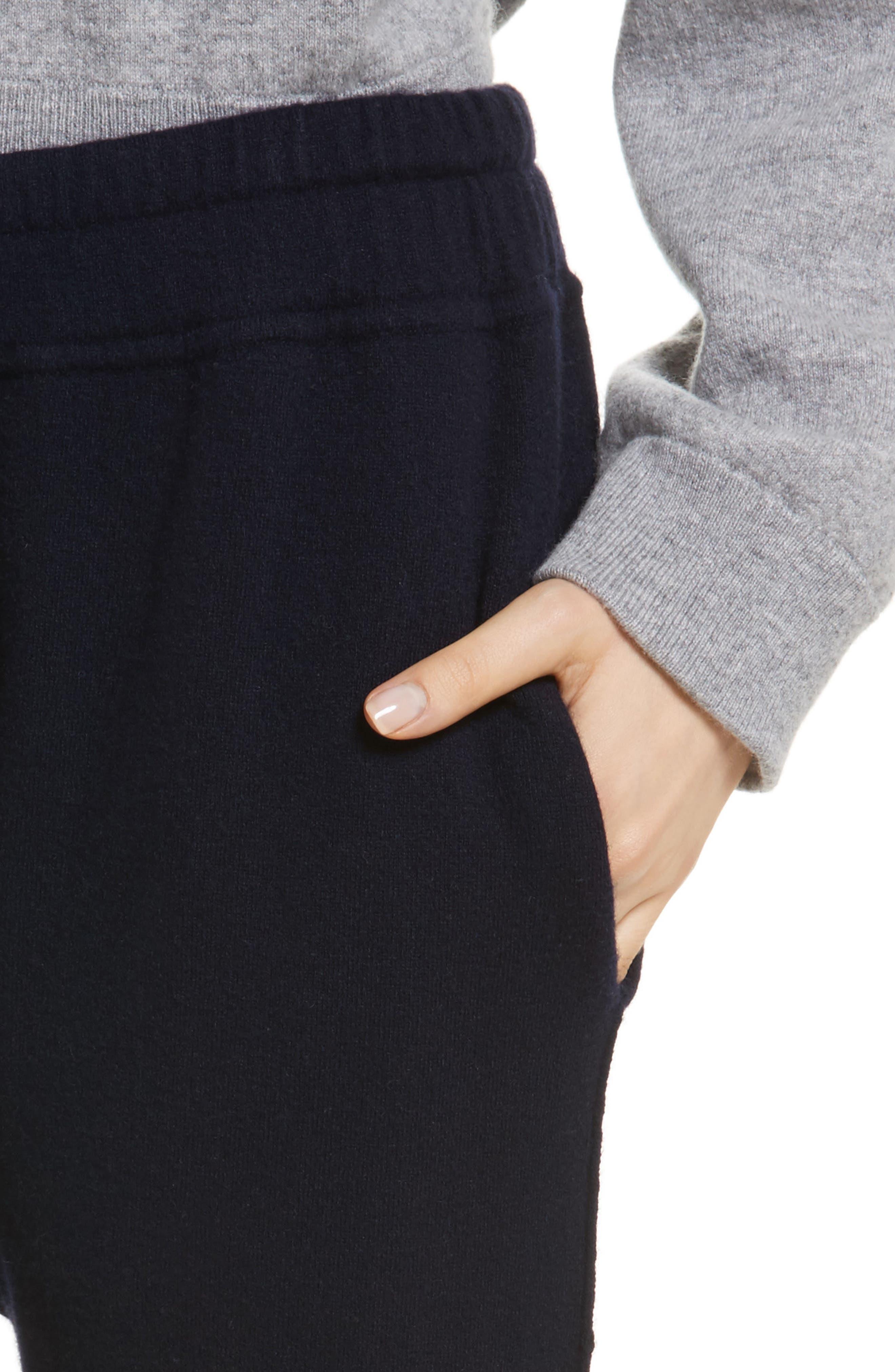 Alternate Image 4  - Vince Wool & Cashmere Blend Jogger Pants
