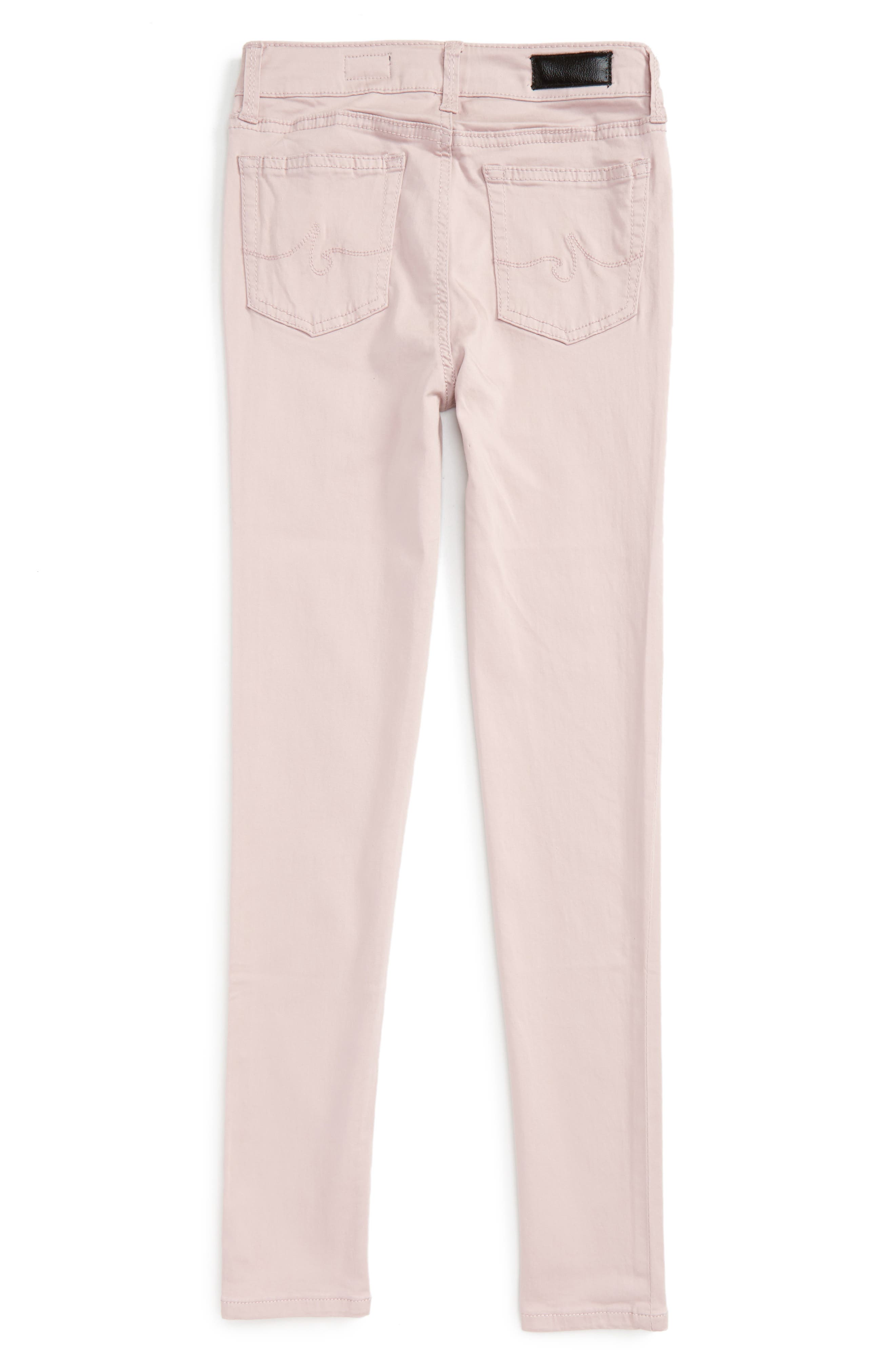 Twiggy Ankle Skinny Jeans,                             Alternate thumbnail 2, color,                             Light Pink