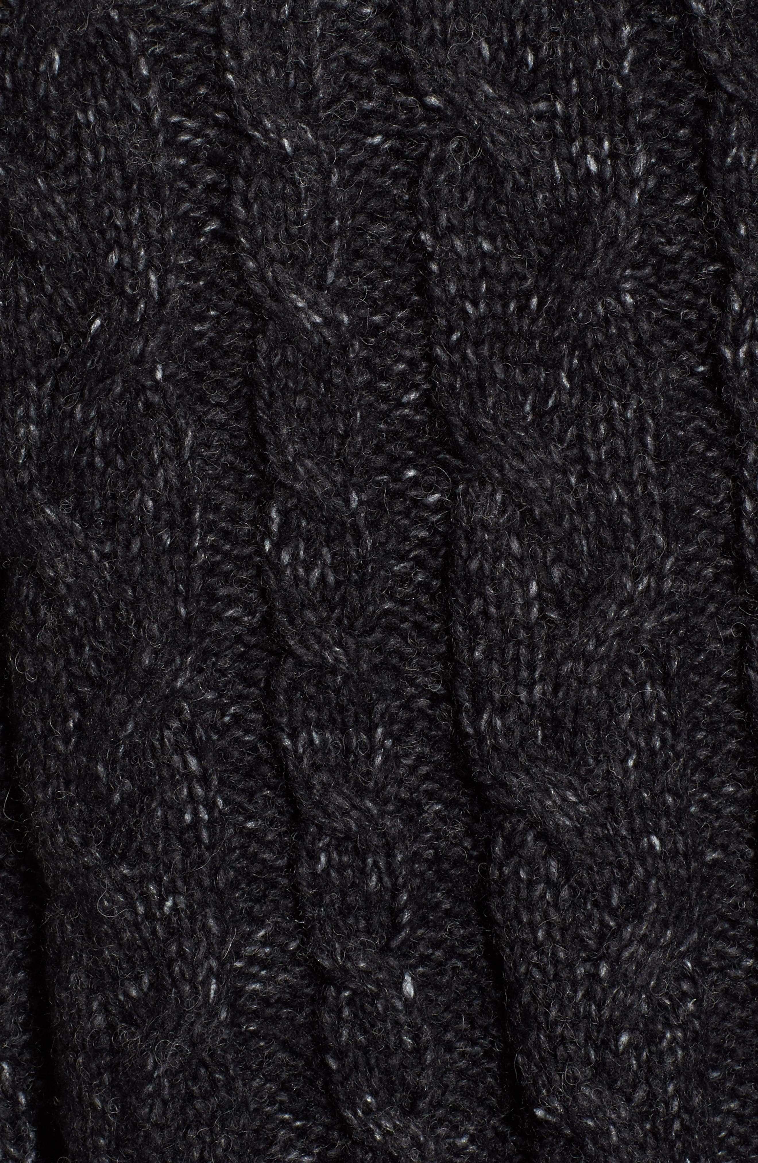 Alternate Image 5  - Press Trapeze Fit Cable Knit Sweater