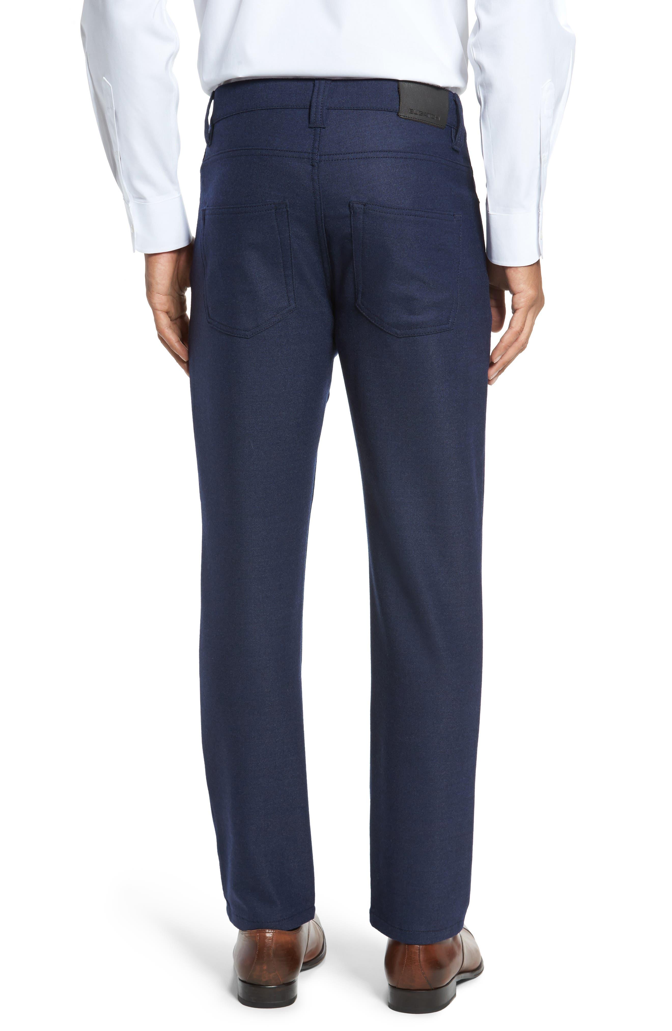 Wool Blend Pants,                             Alternate thumbnail 2, color,                             Navy