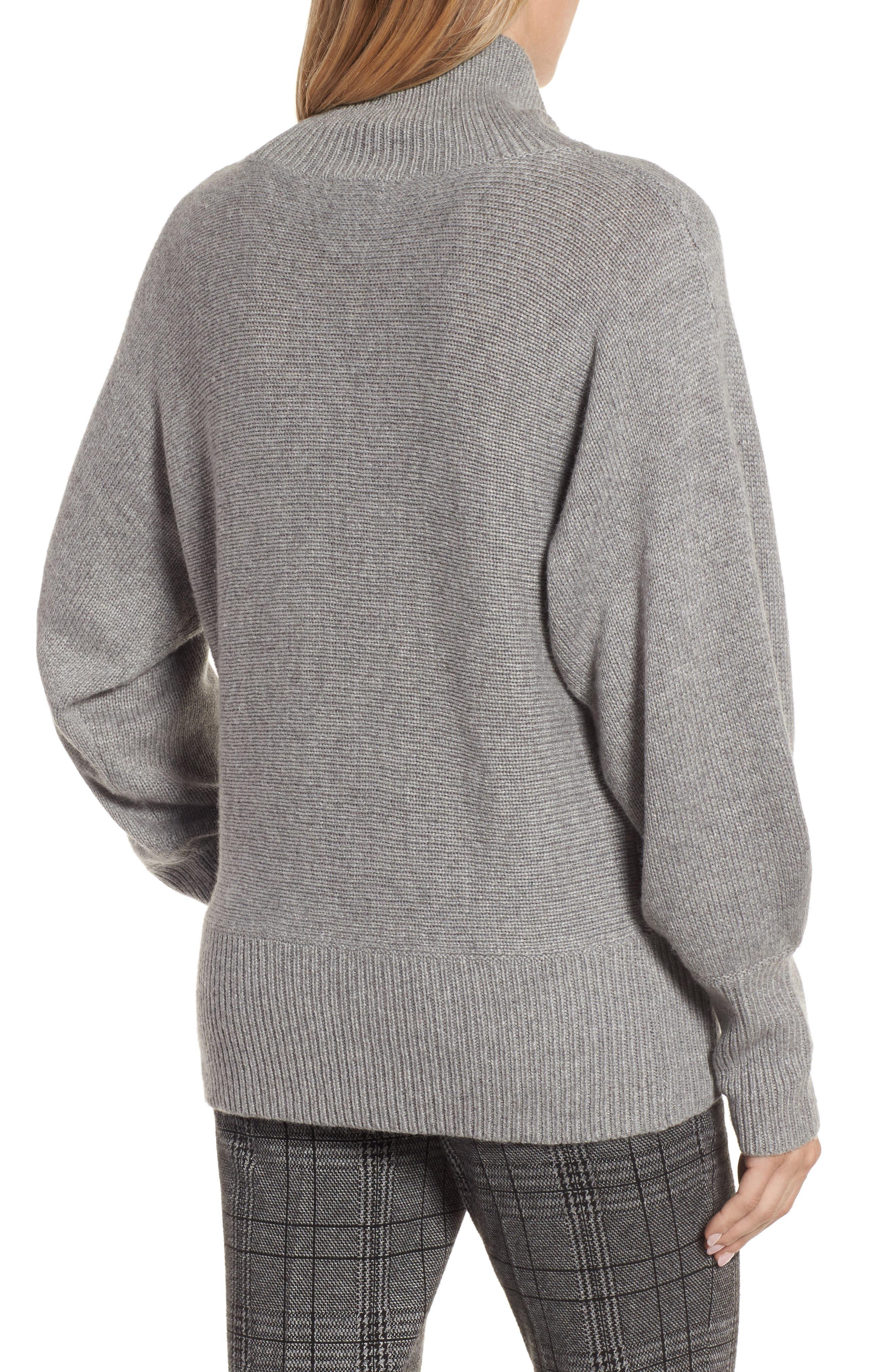 Alternate Image 2  - Halogen® Blouson Sleeve Sweater (Regular & Petite)