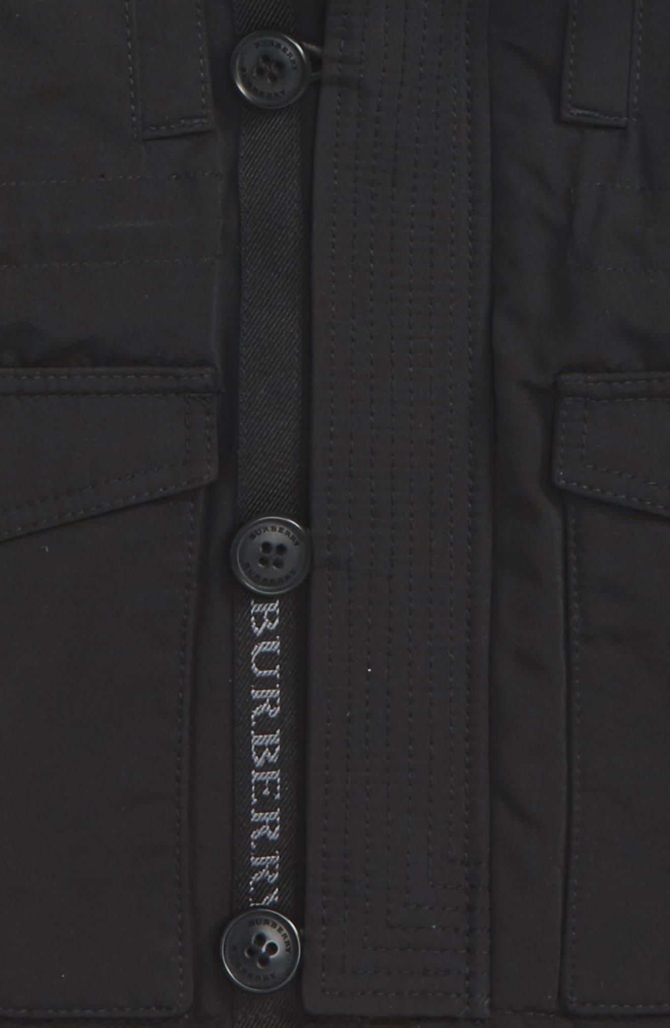 Mini Elliott Down Jacket,                             Alternate thumbnail 2, color,                             Black