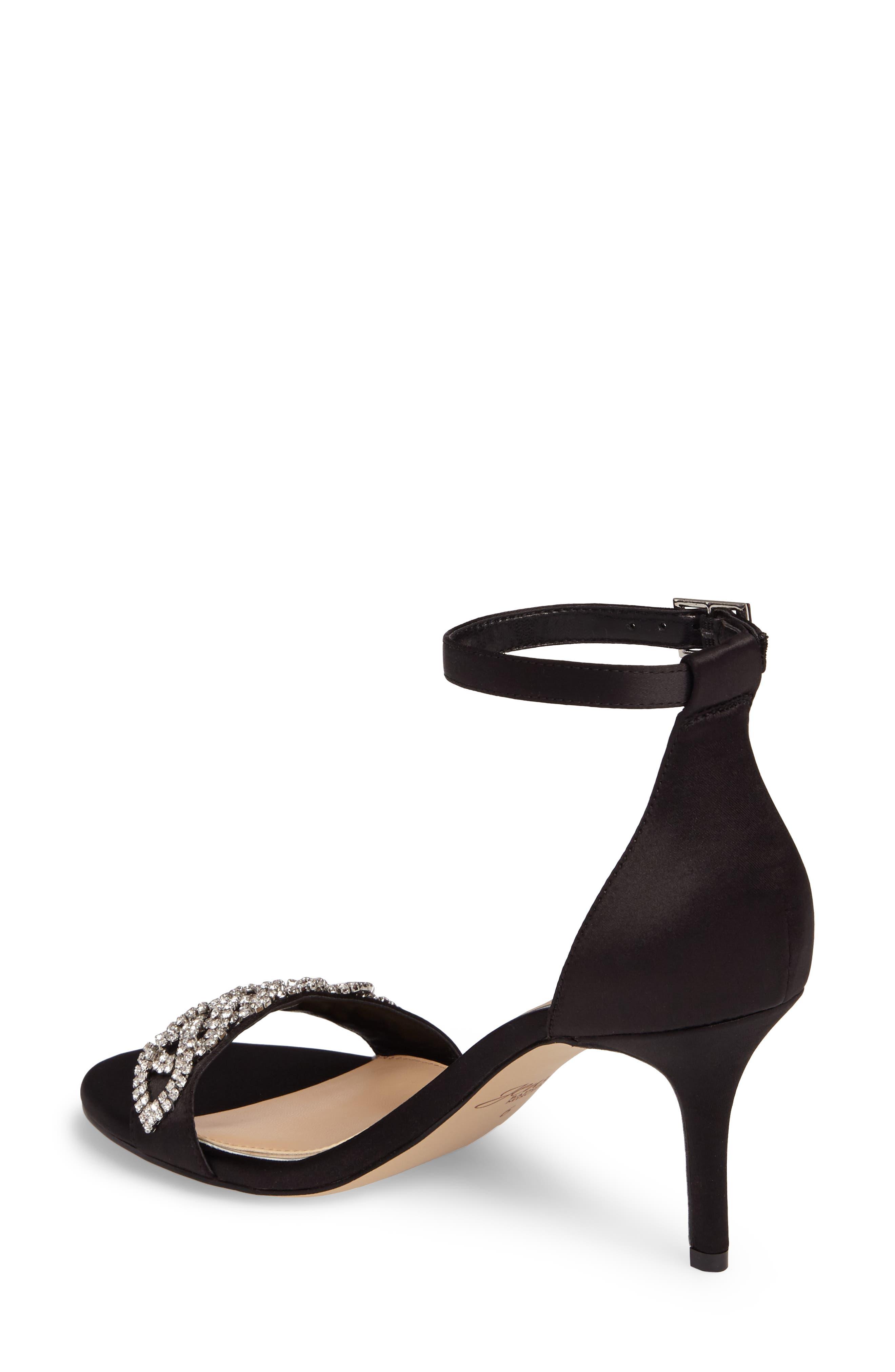 Alternate Image 2  - Jewel Badgley Mischka Alana Ankle Strap Sandal (Women)