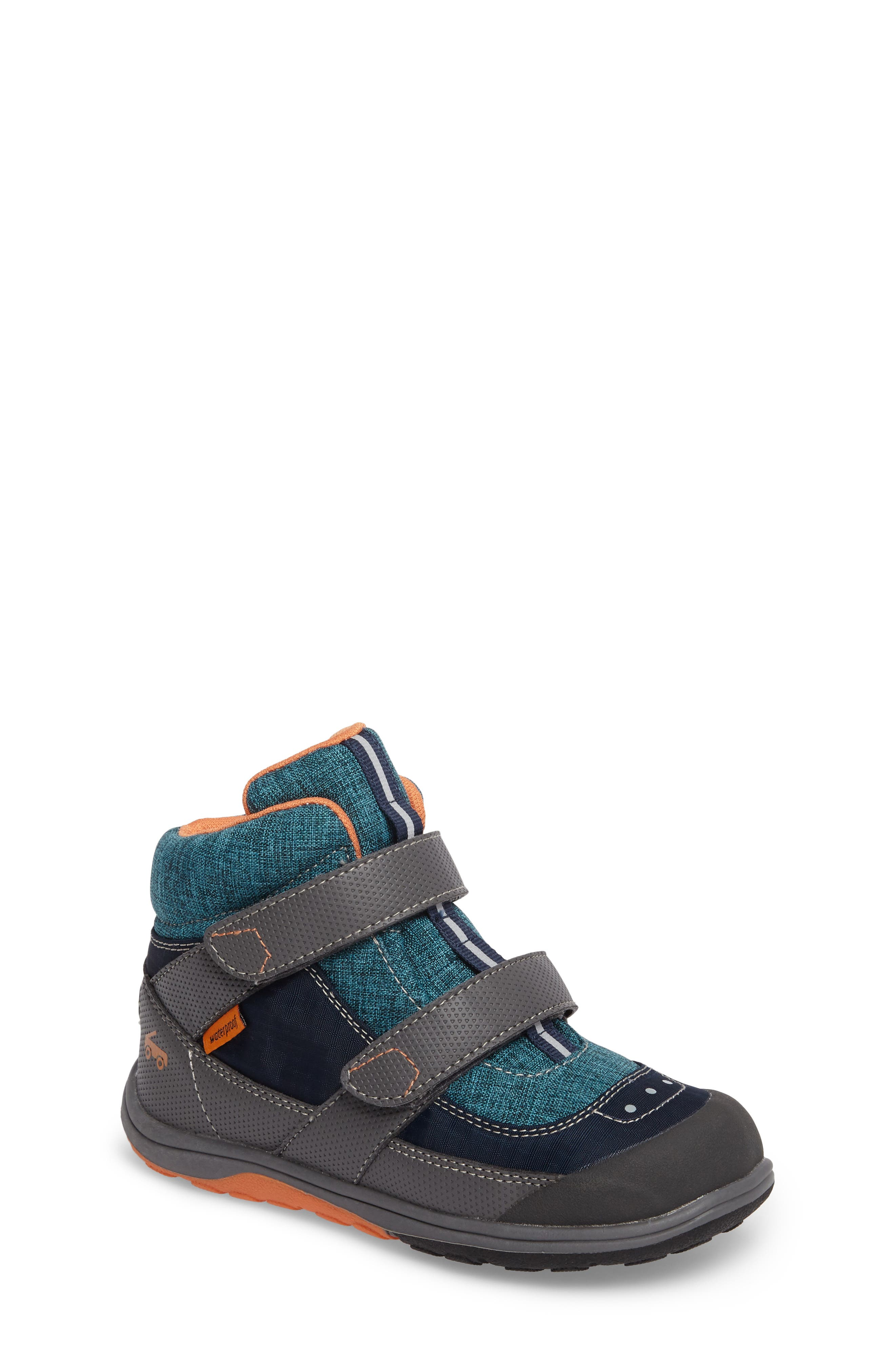 'Atlas' Waterproof Boot,                         Main,                         color, Blue