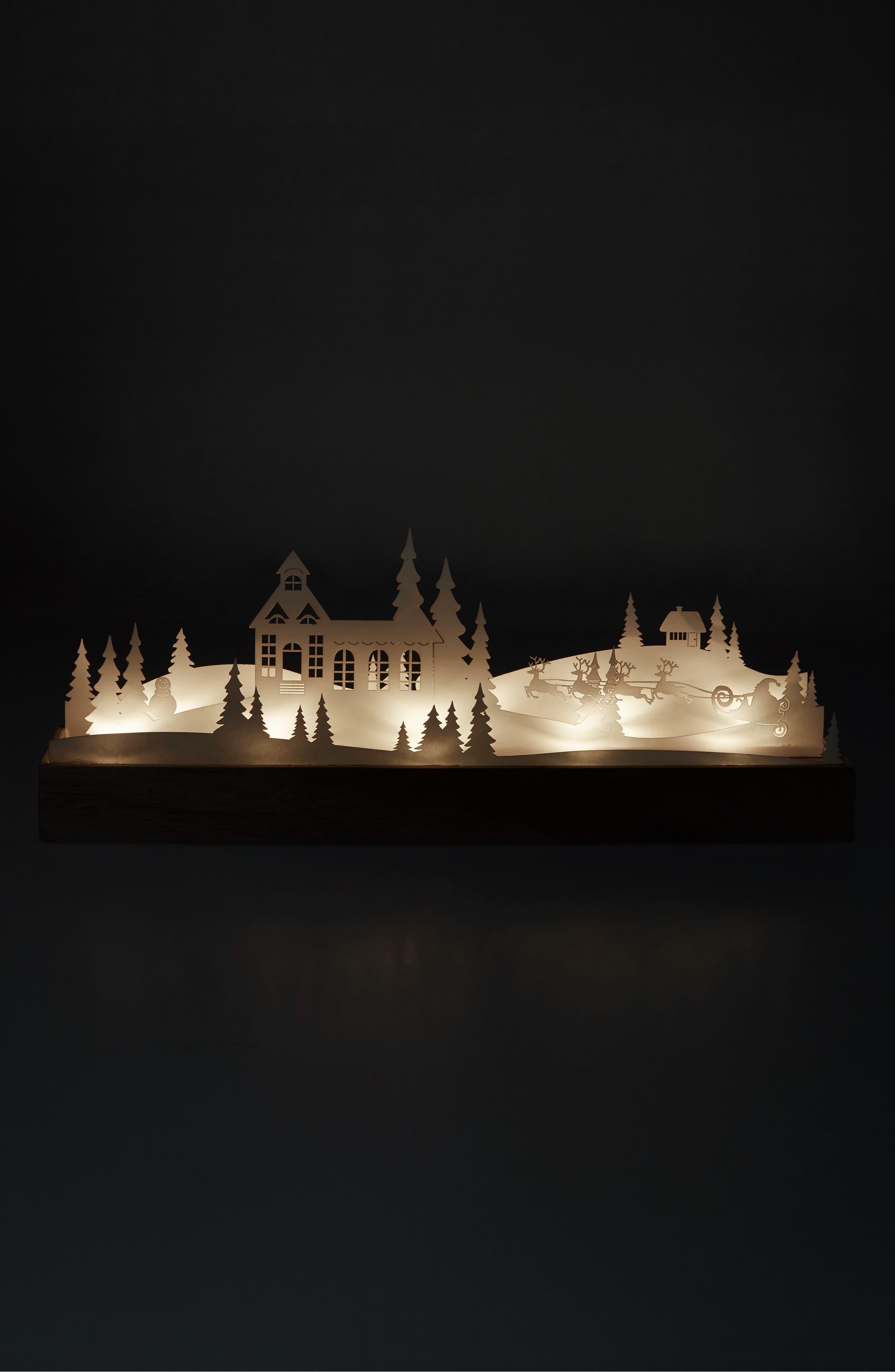 Alternate Image 2  - Arty Lighted Winter Scene