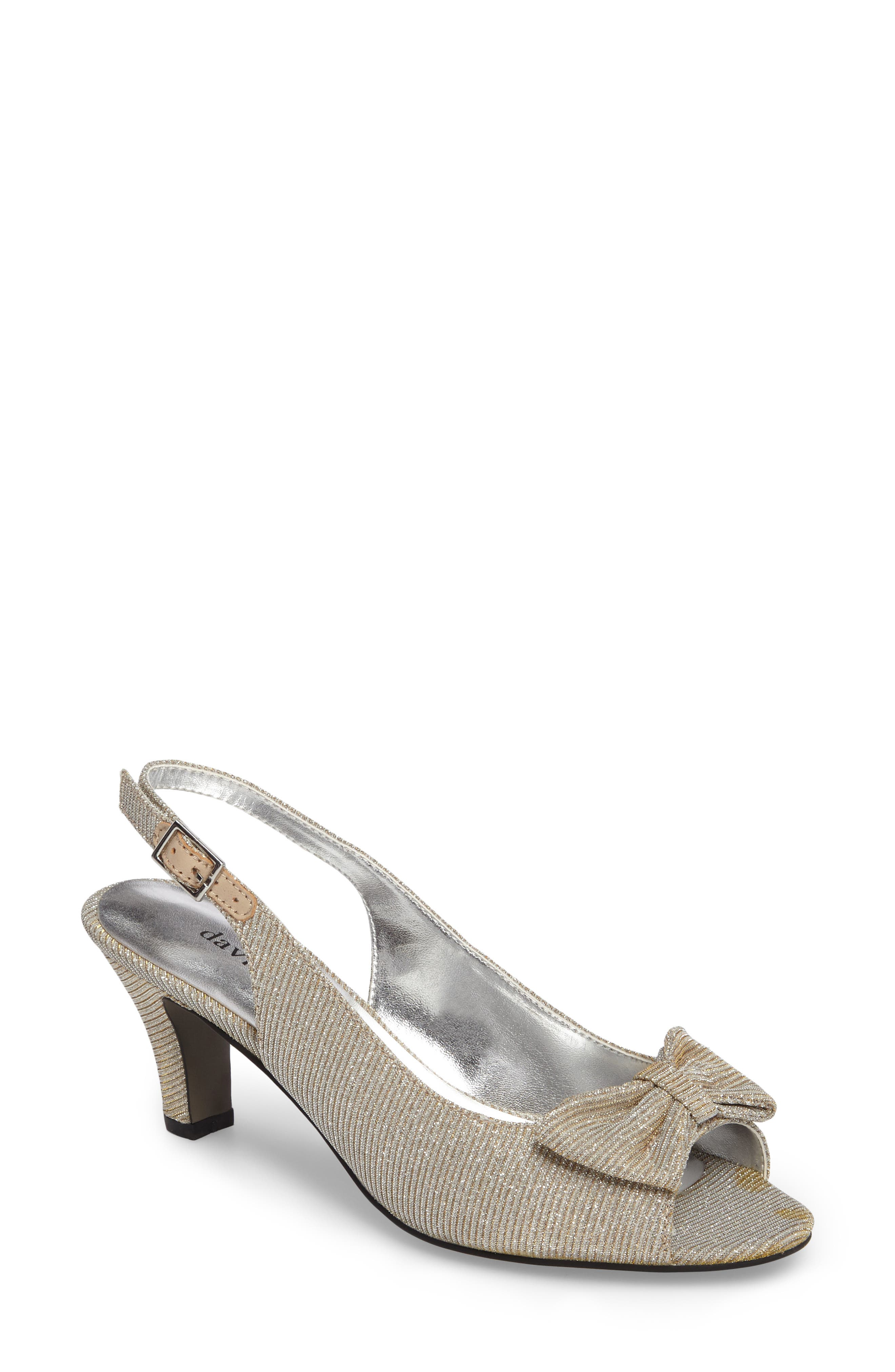 Alternate Image 1 Selected - David Tate Spirit Slingback Sandal (Women)