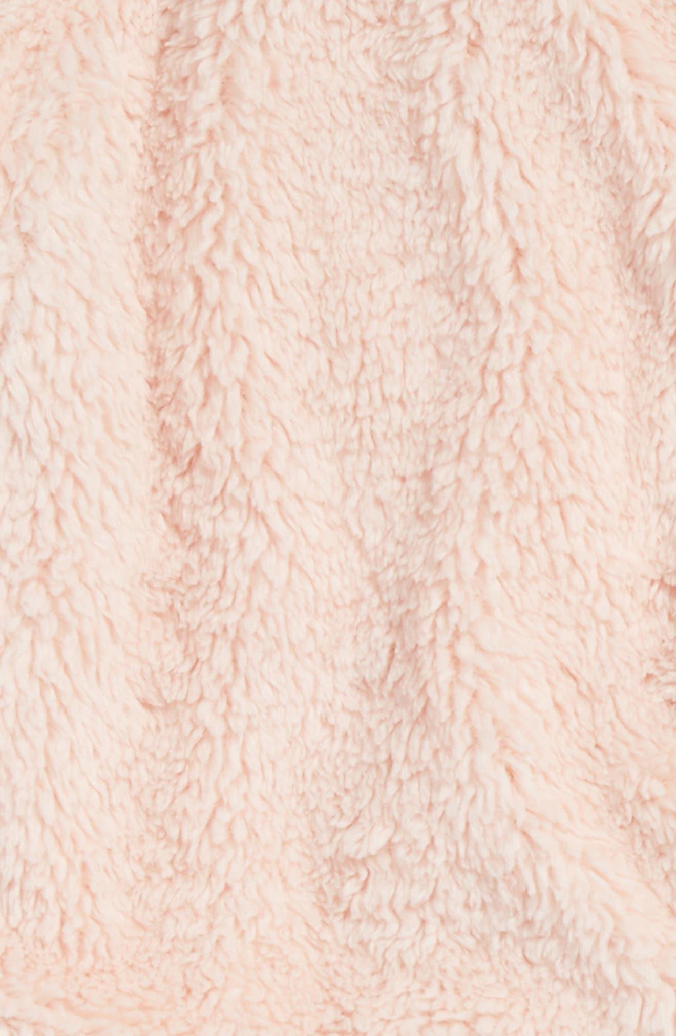 Alternate Image 2  - Splendid High-Pile Fleece Pullover Sweatshirt & Leggings Set (Baby Girls)