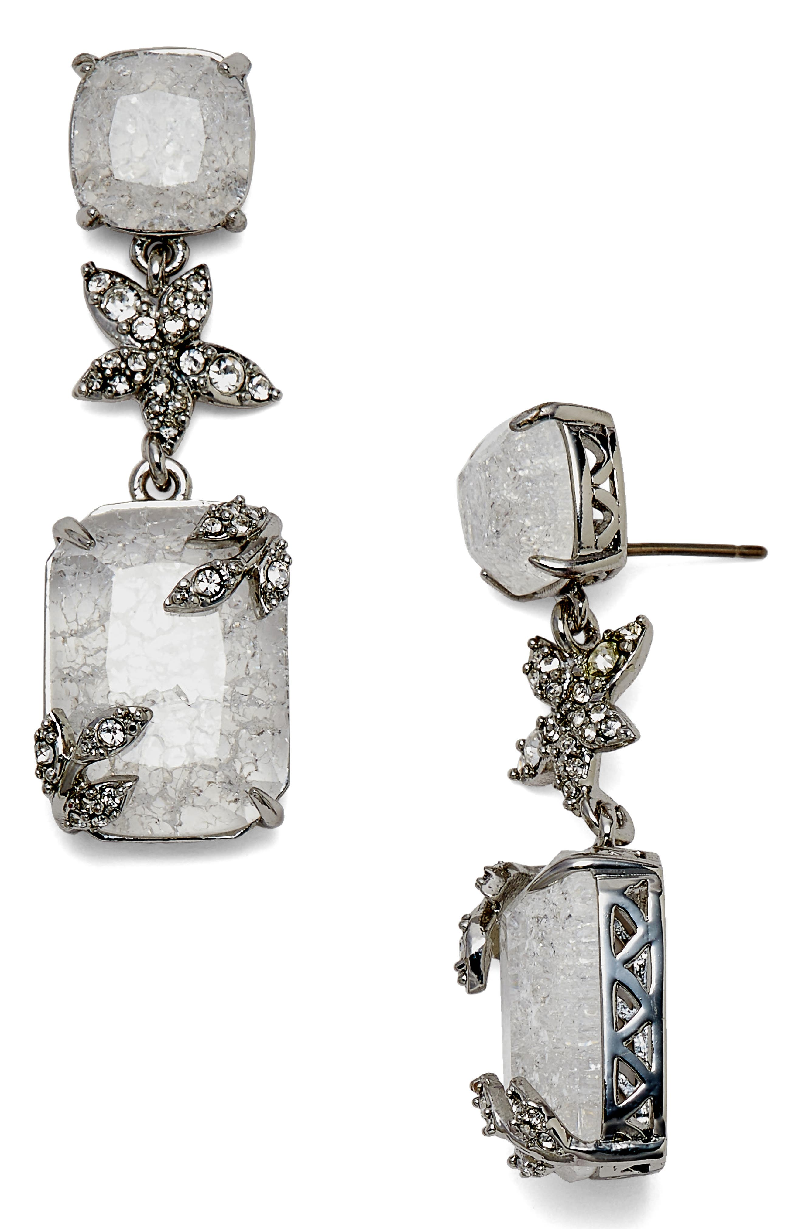 Alternate Image 1 Selected - Jenny Packham Double Drop Earrings