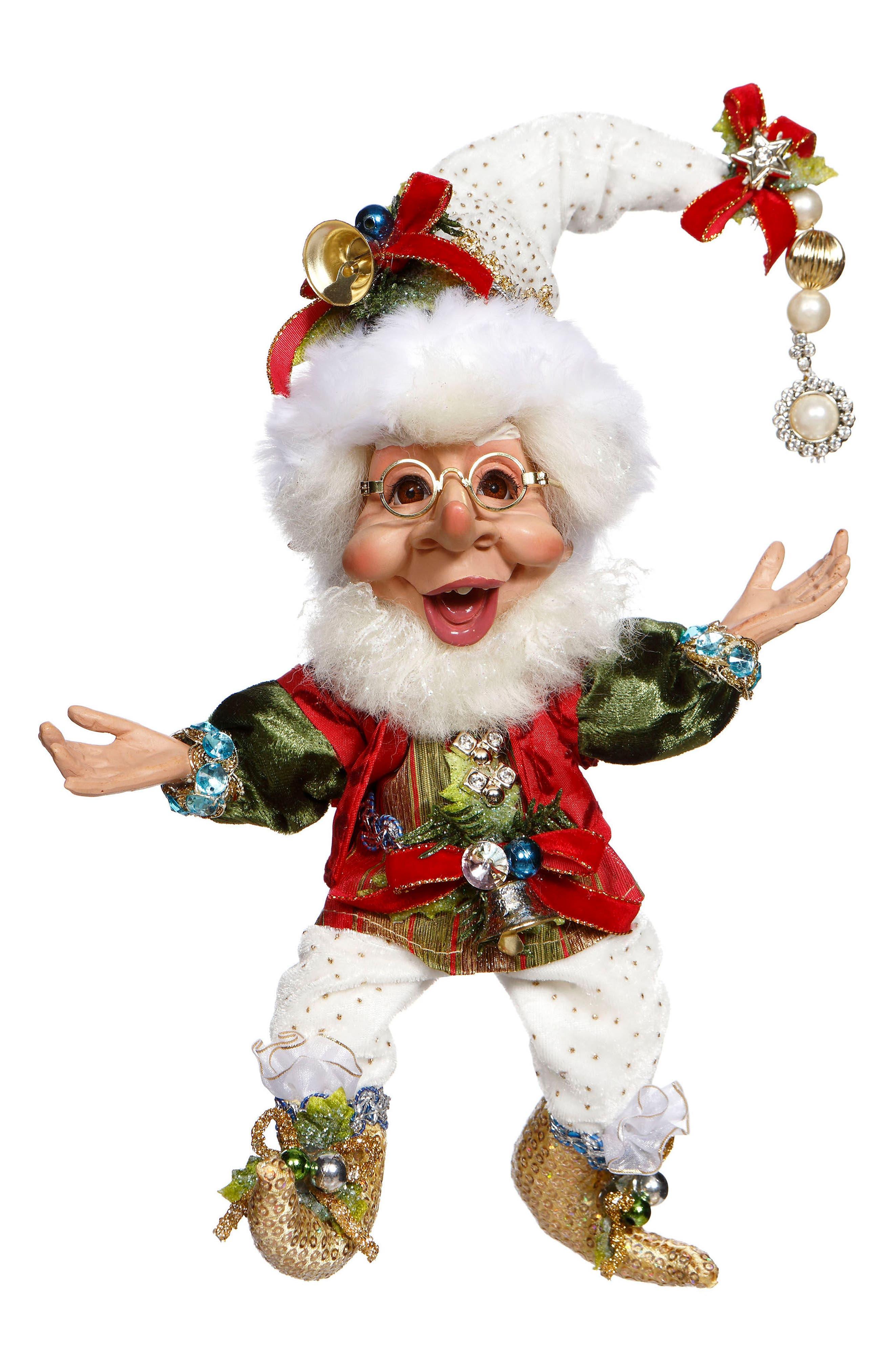 Joyeux Noel Elf,                         Main,                         color, Red