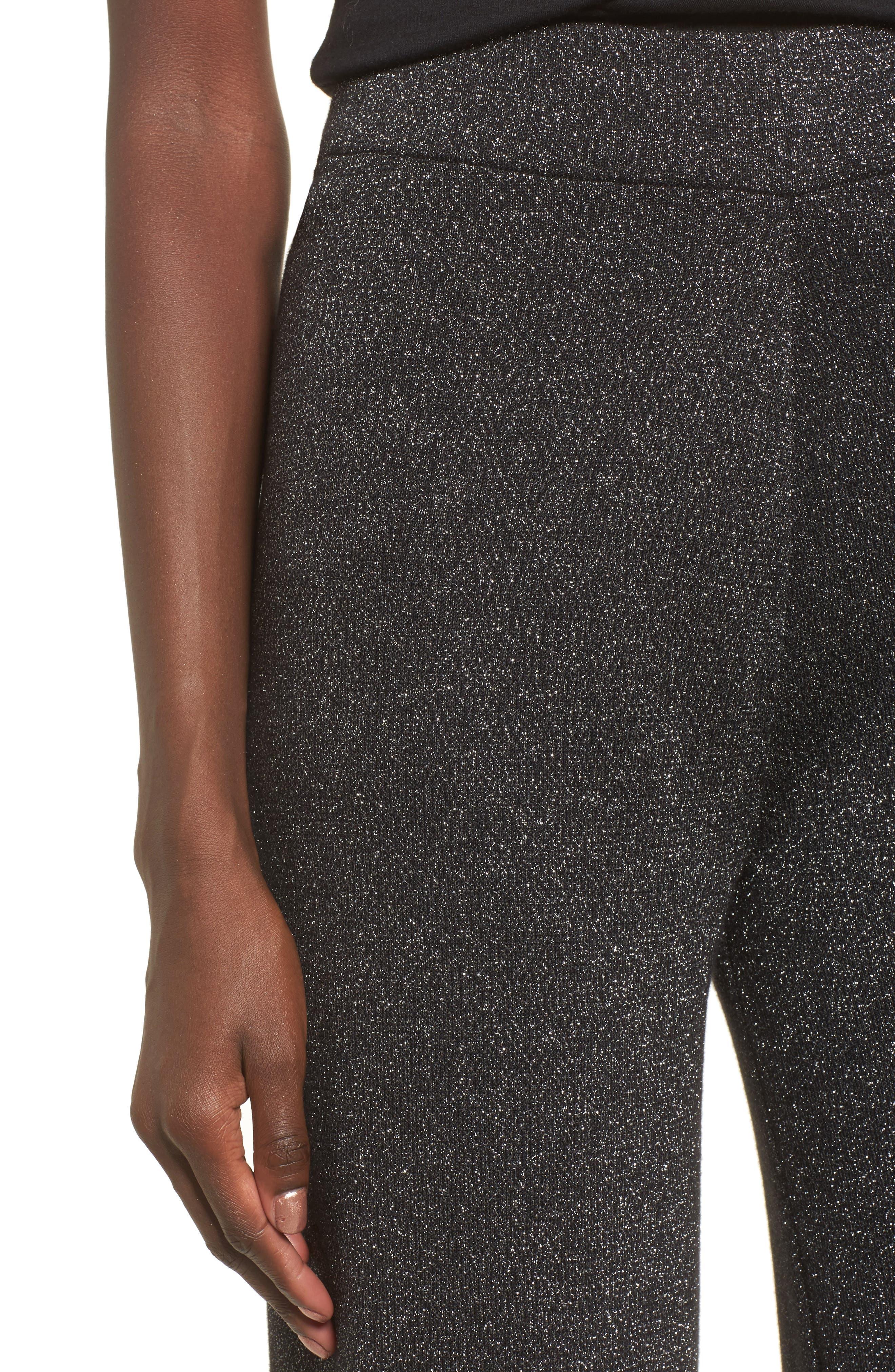 Alternate Image 5  - Leith Metallic Crop Pants