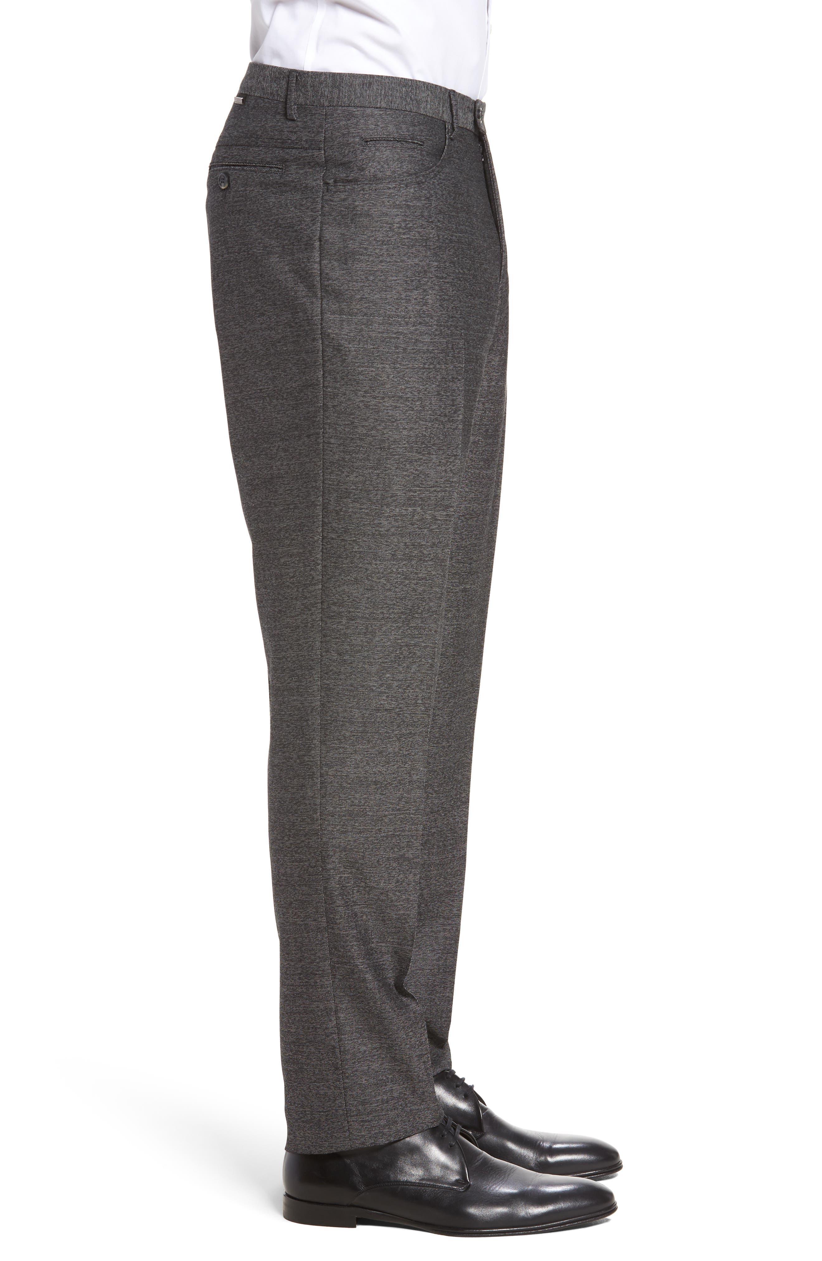 Sartorial Wool Five-Pocket Pants,                             Alternate thumbnail 3, color,                             Grey