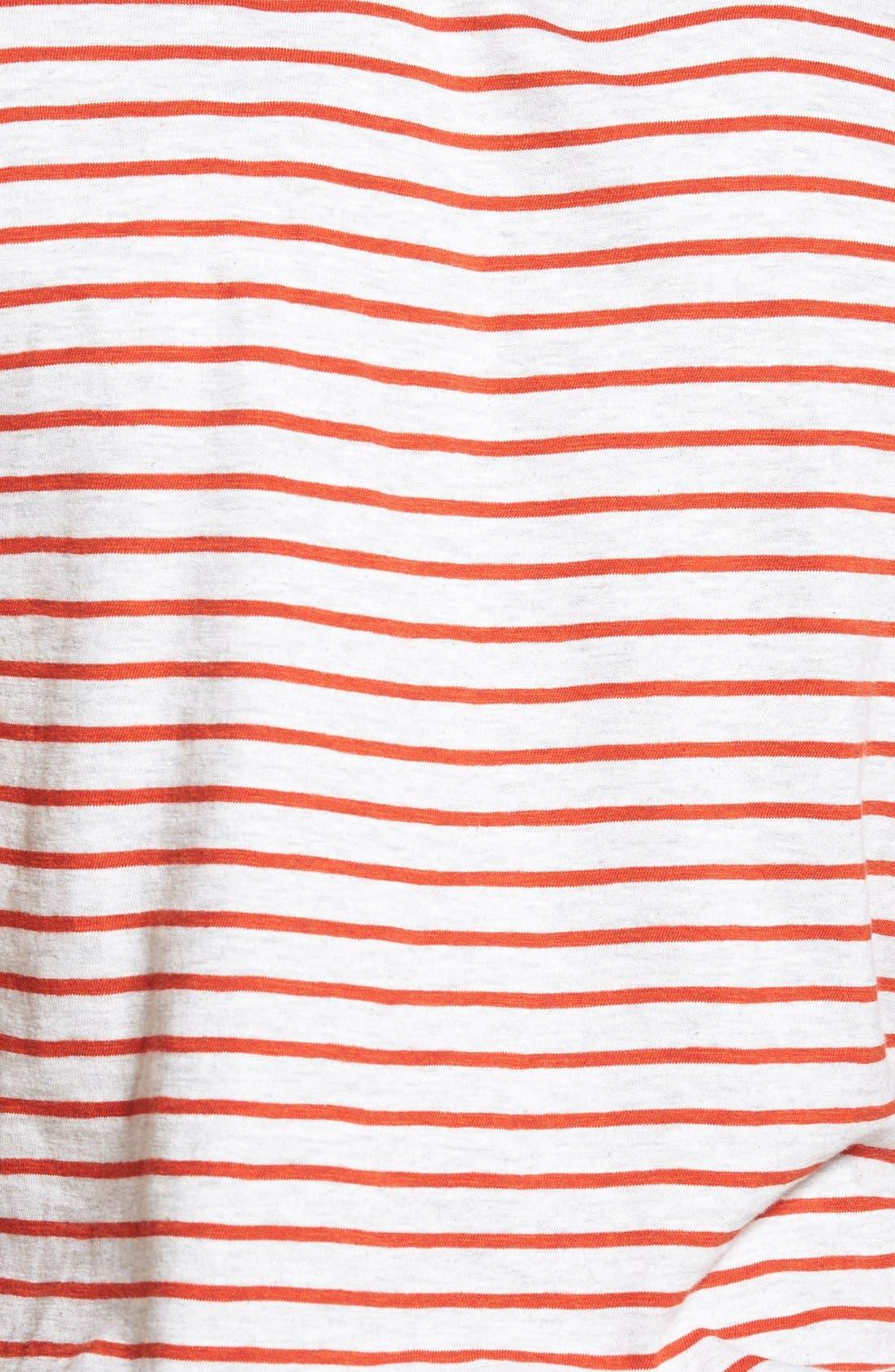 Alternate Image 3  - Grayers Breton Stripe Crewneck T-Shirt