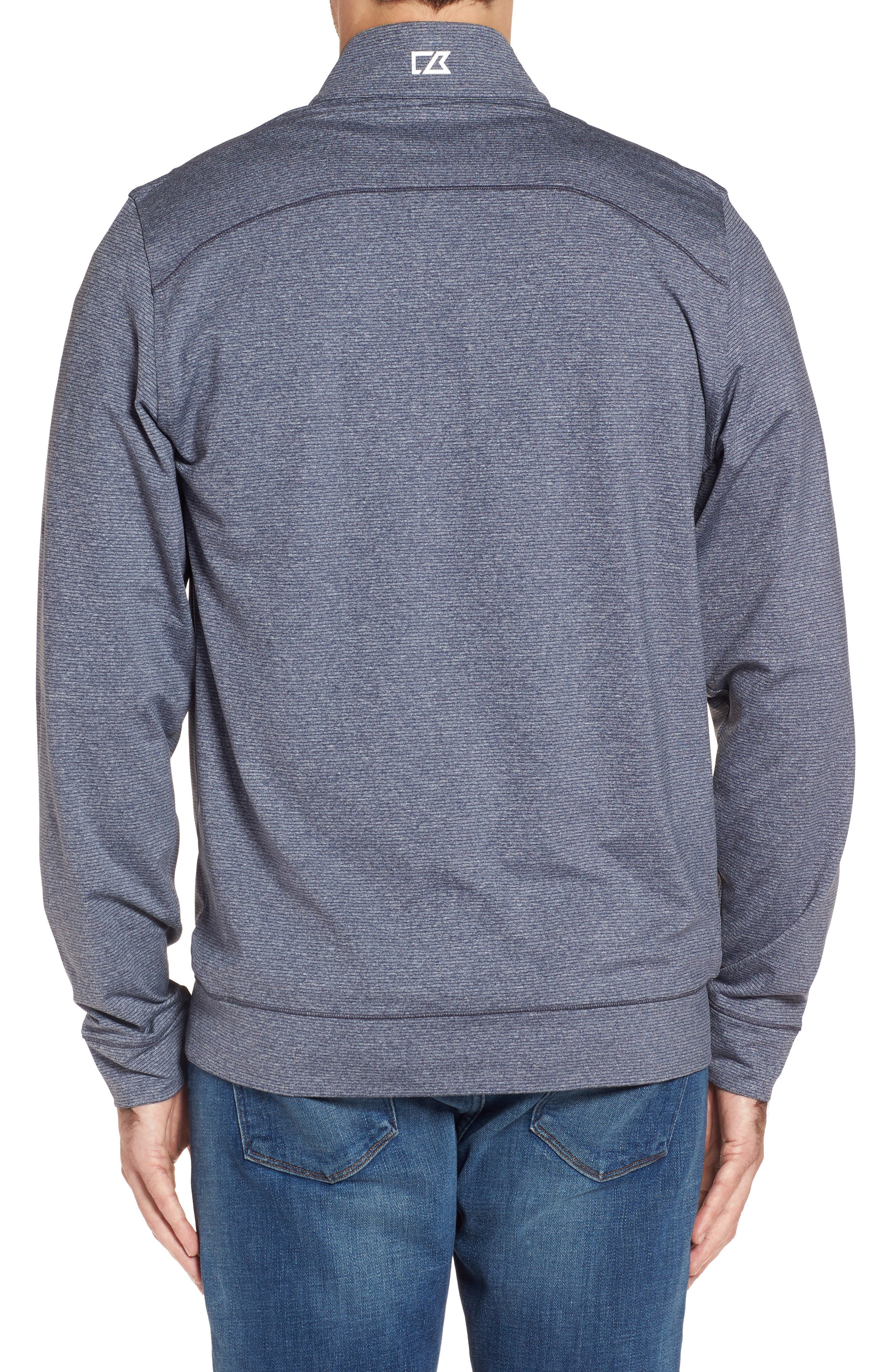 Alternate Image 2  - Cutter & Buck Shoreline - Tennessee Titans Half Zip Pullover