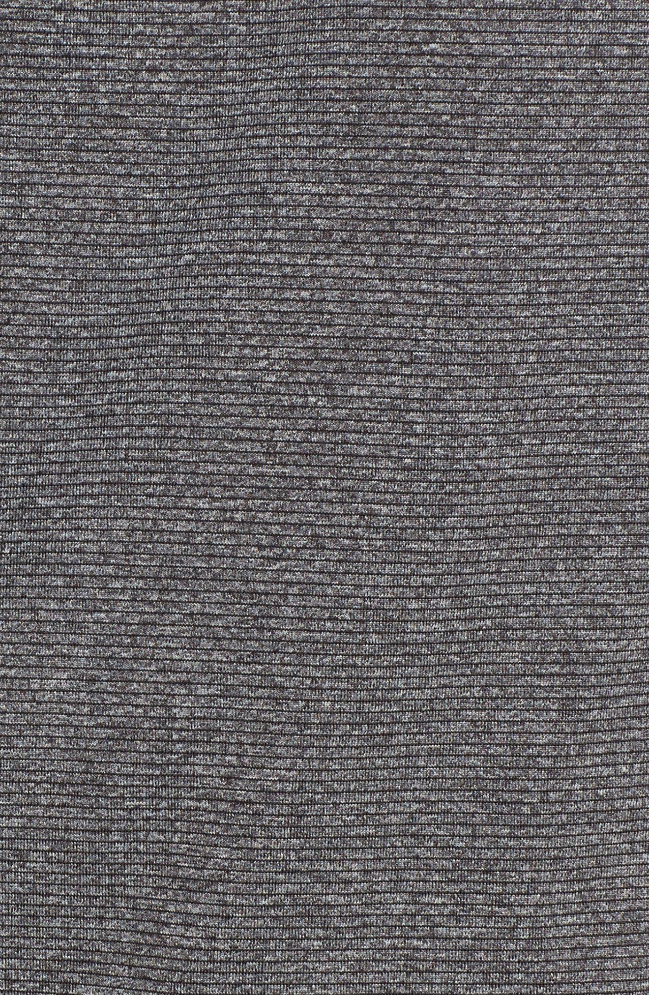 Shoreline - Atlanta Falcons Half Zip Pullover,                             Alternate thumbnail 5, color,                             Charcoal Heather