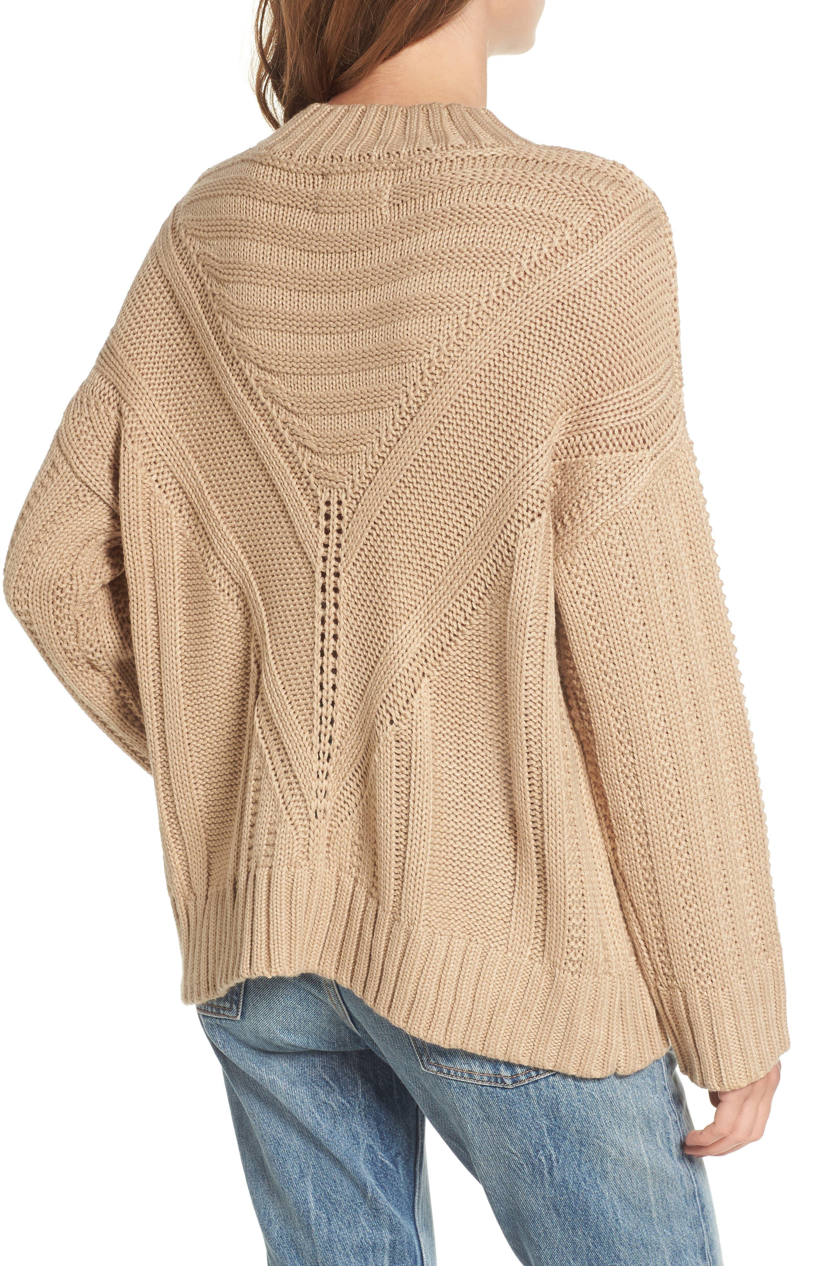 Alternate Image 3  - Moon River Oversize Drop Shoulder Sweater