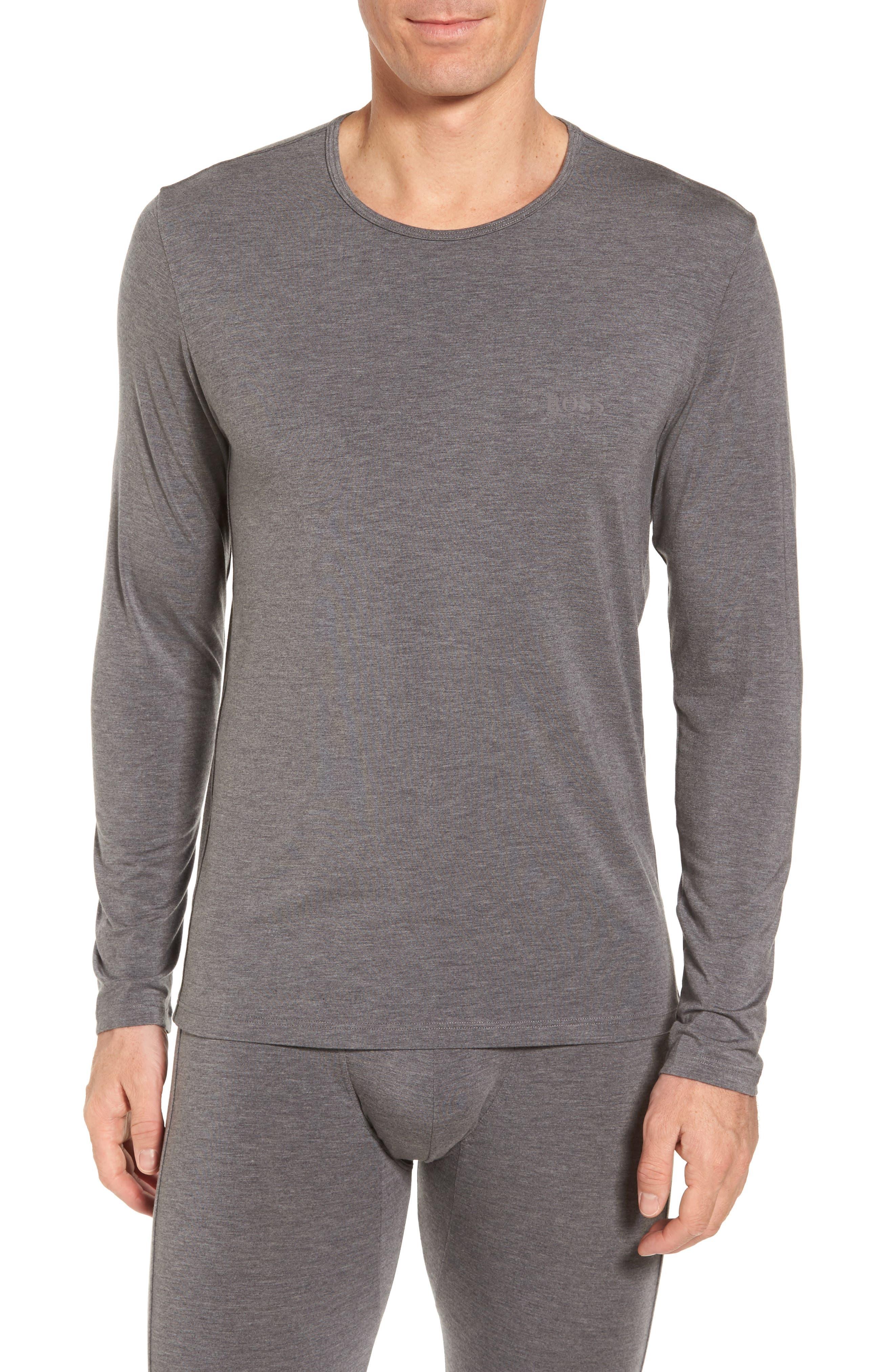 Main Image - BOSS Thermal Long Sleeve T-Shirt