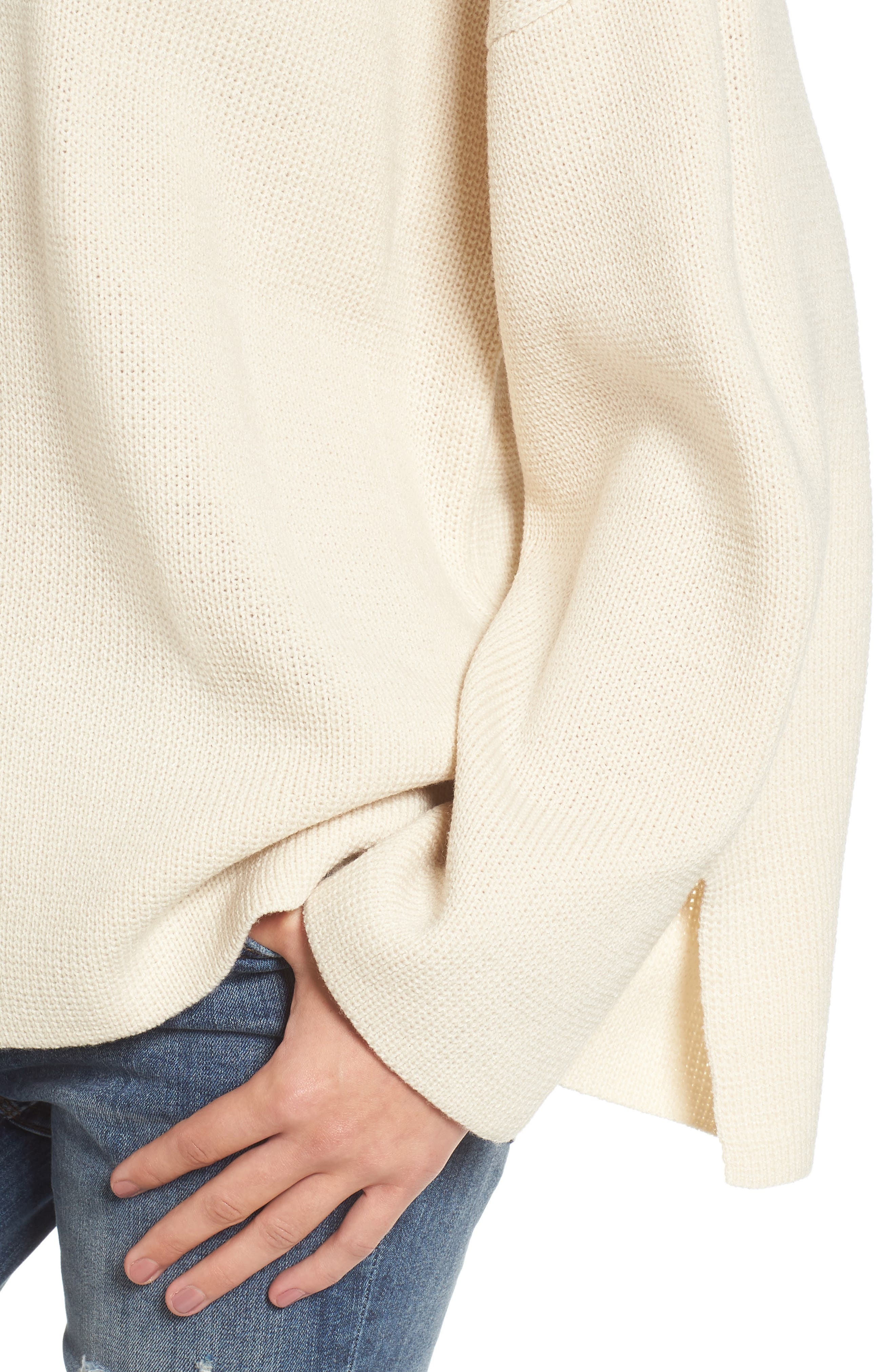 Alternate Image 5  - Moon River V-Neck Sweater
