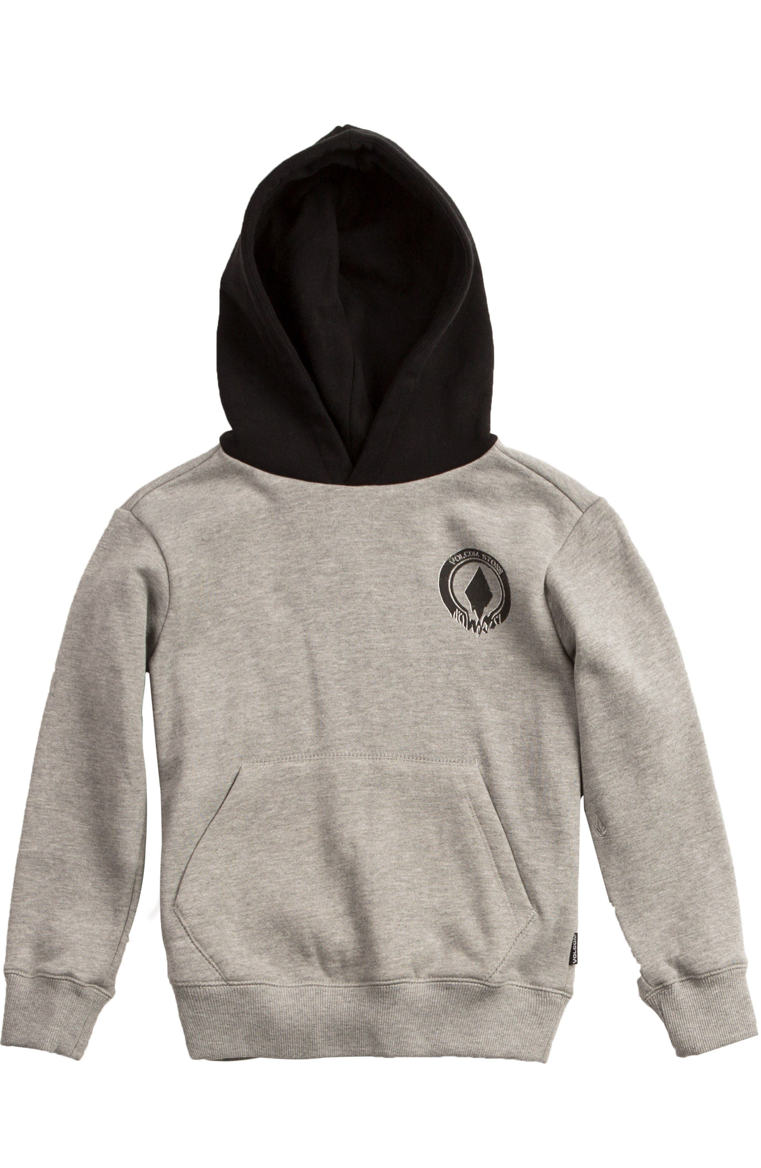 Supply Stone Graphic Pullover Hoodie,                             Main thumbnail 1, color,                             Grey