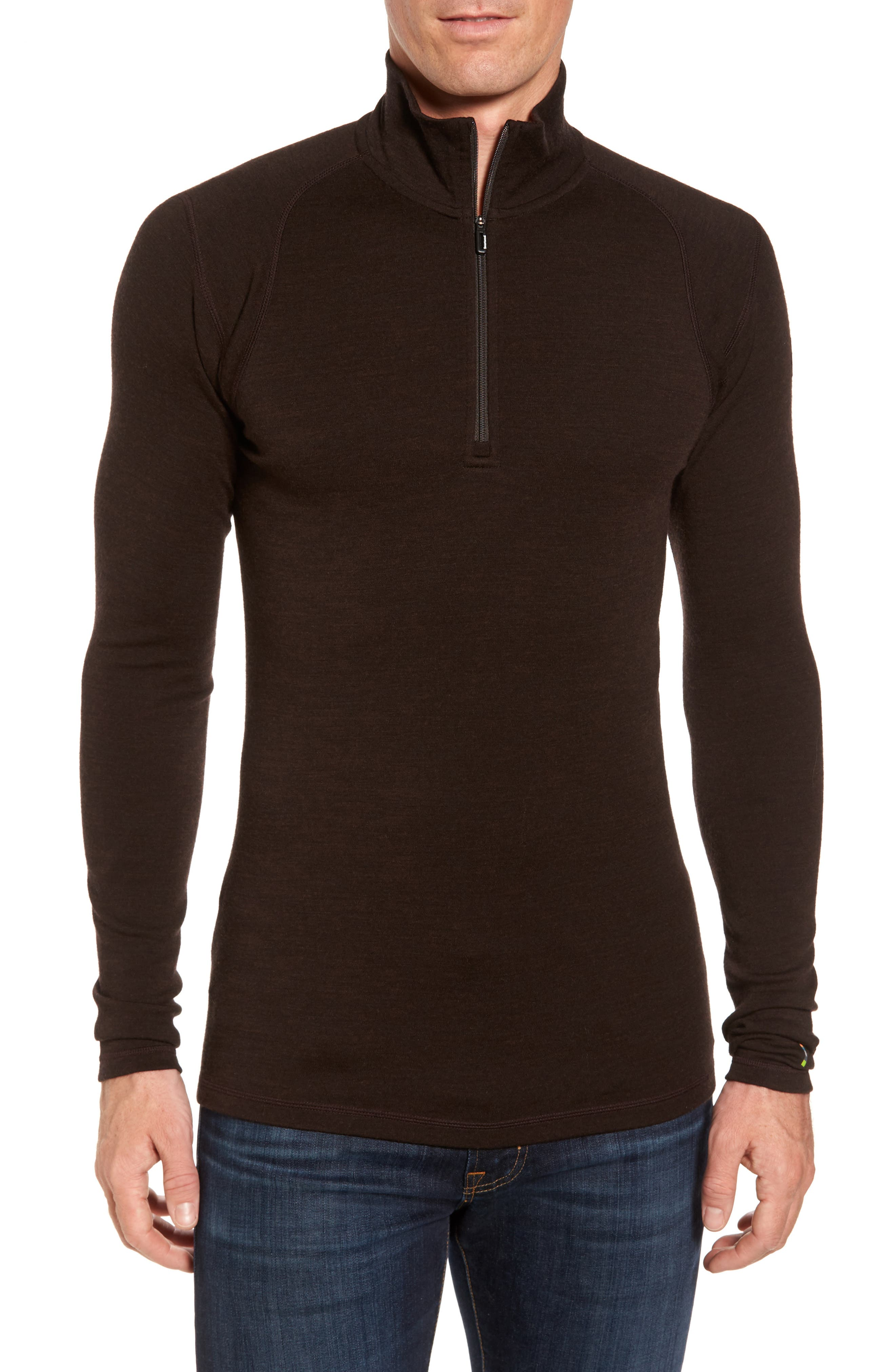 Alternate Image 1 Selected - Smartwool Merino 250 Base Layer Quarter Zip Pullover
