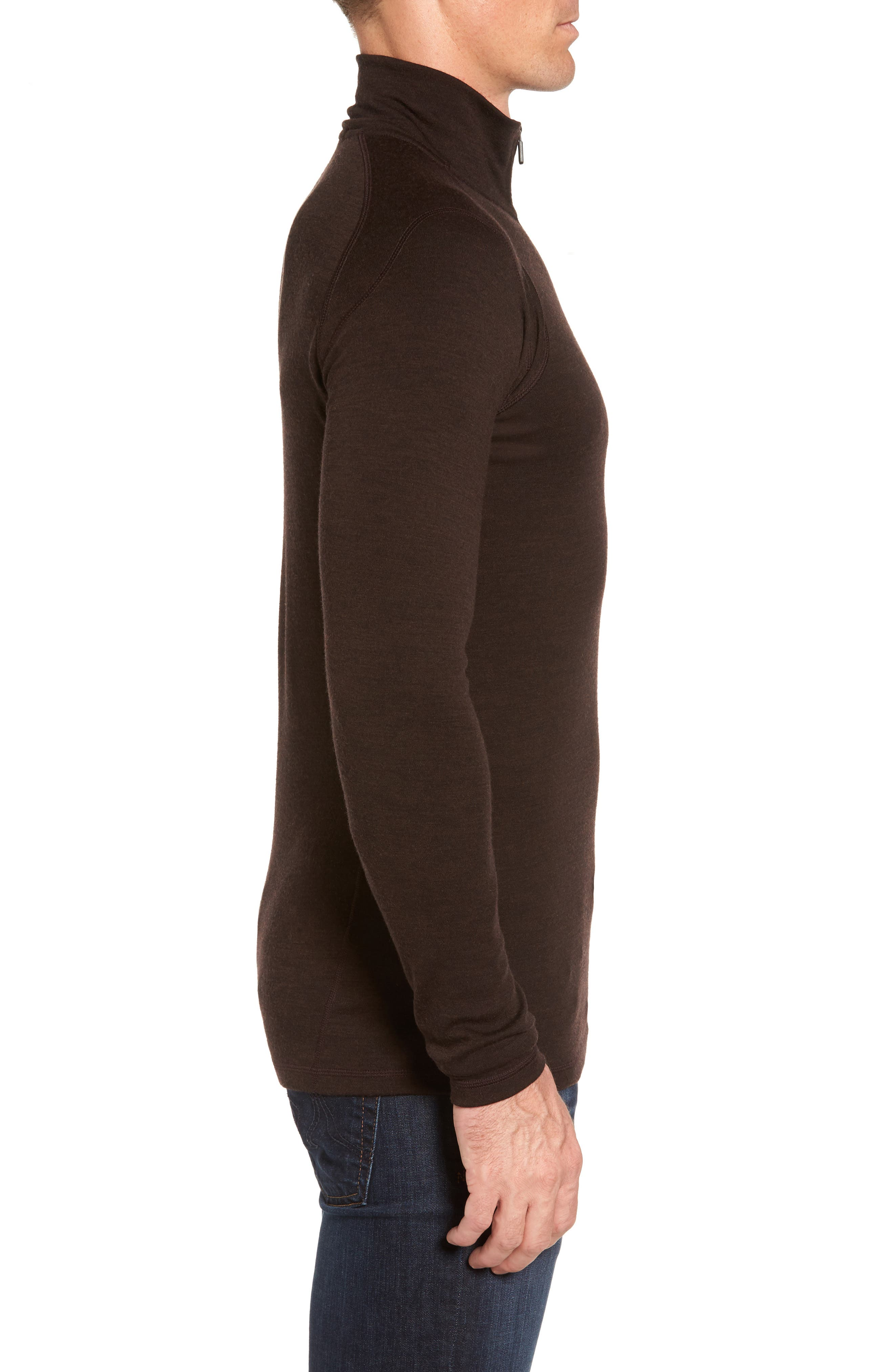 Alternate Image 3  - Smartwool Merino 250 Base Layer Quarter Zip Pullover