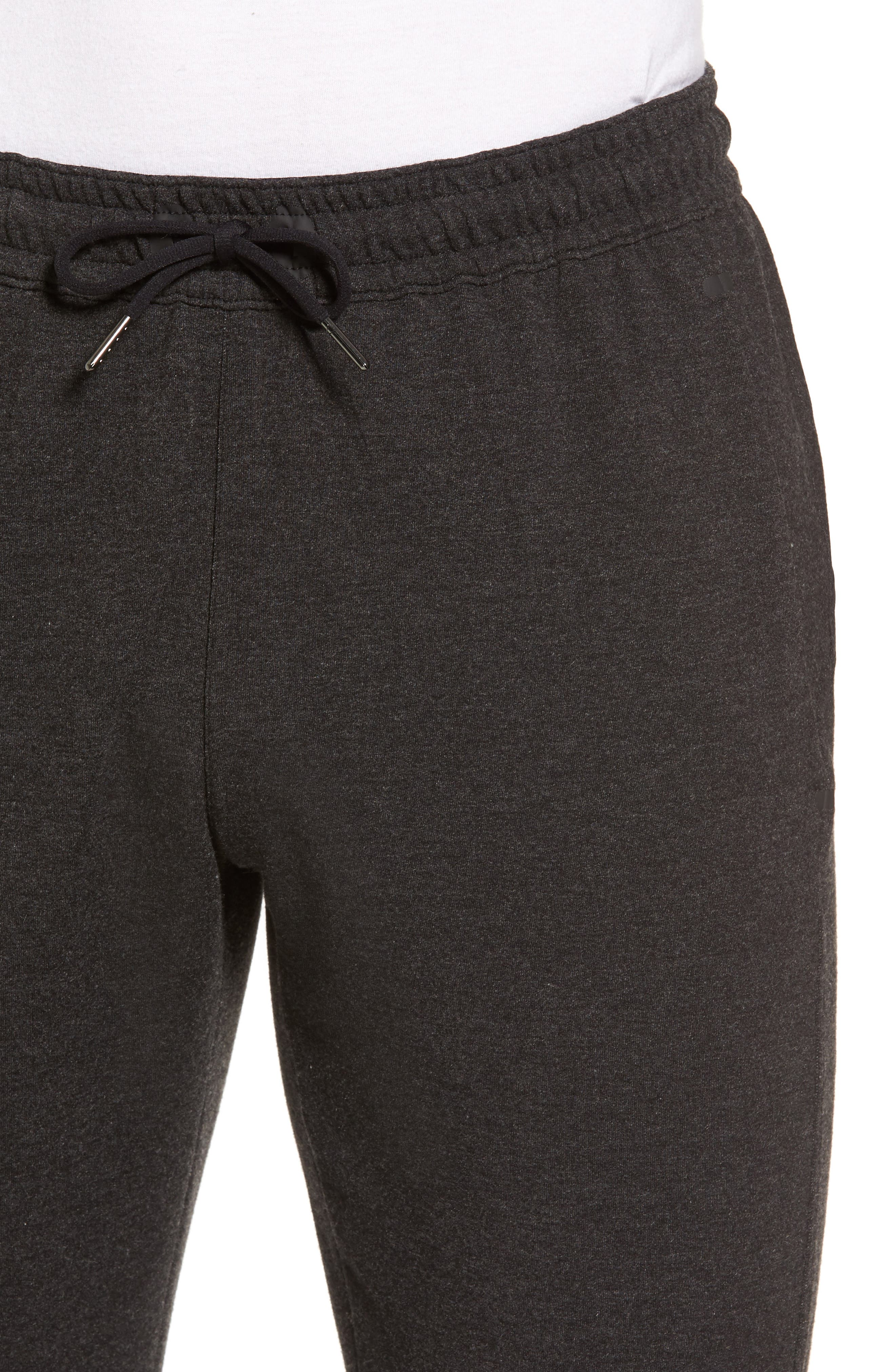 Alternate Image 4  - Zella New Pyrite Tapered Fit Fleece Pants