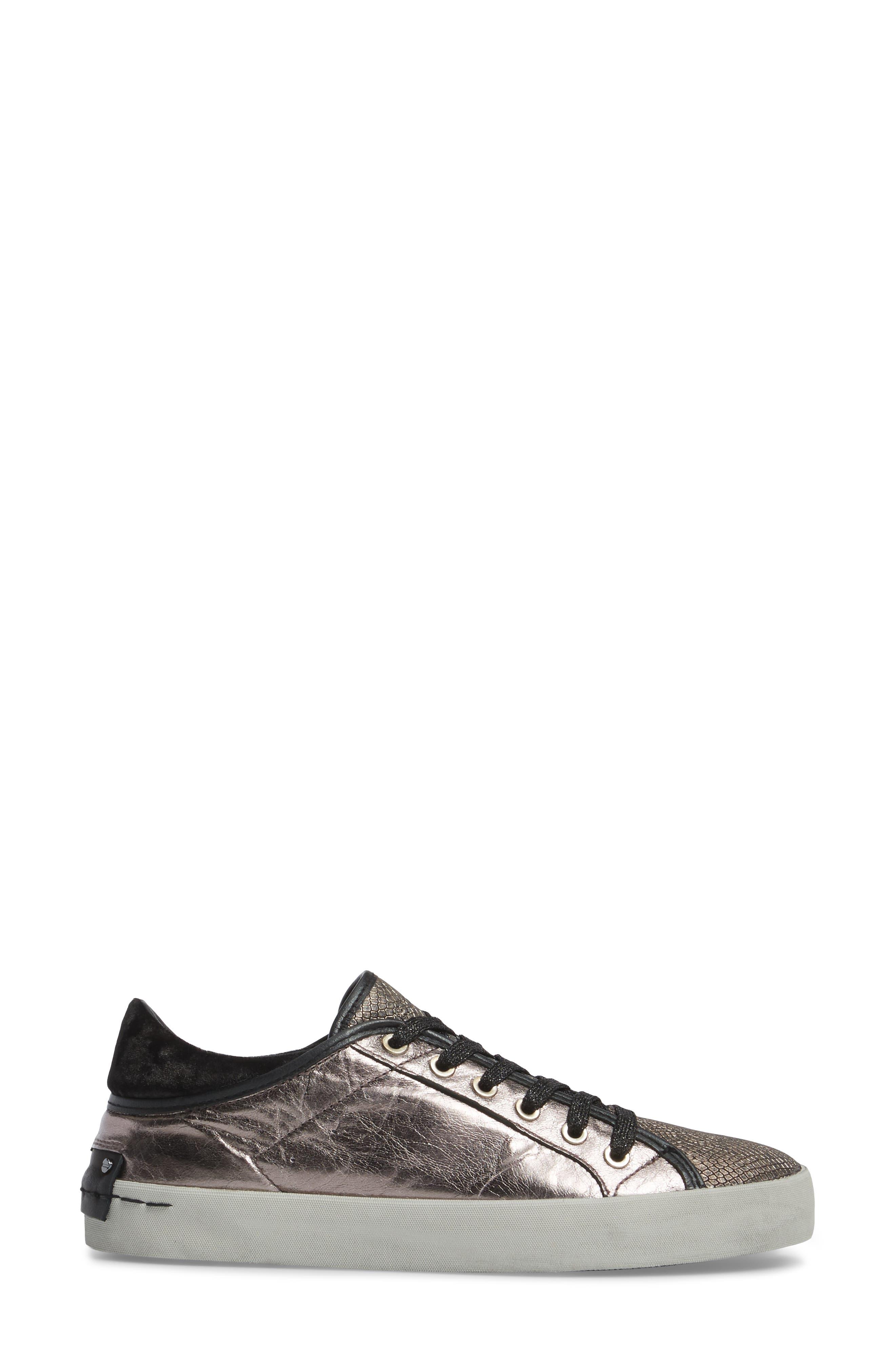 Faith Sneaker,                             Alternate thumbnail 3, color,                             Silver - 23