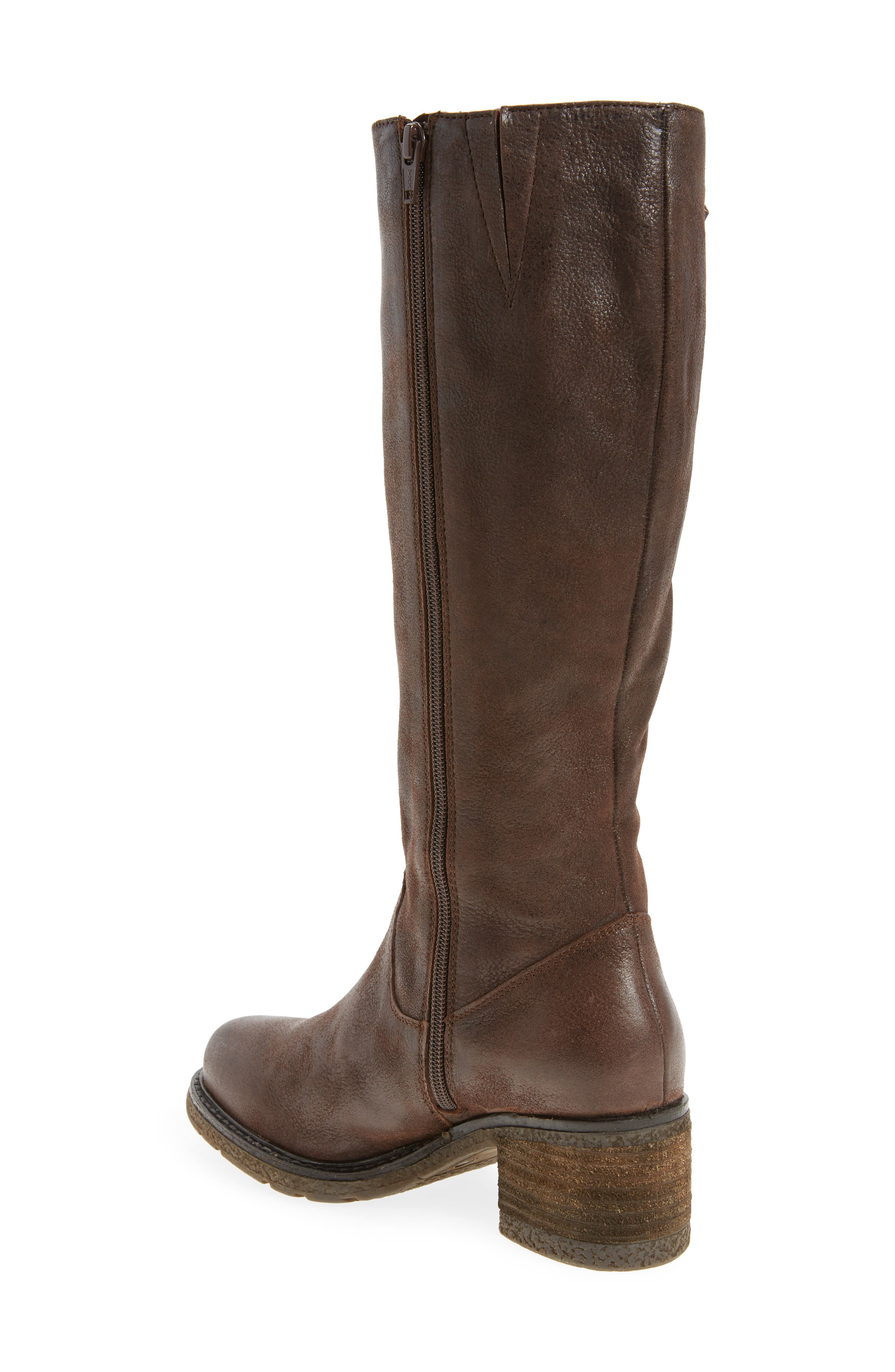 Exit Tall Boot,                             Alternate thumbnail 2, color,                             Brown Leather