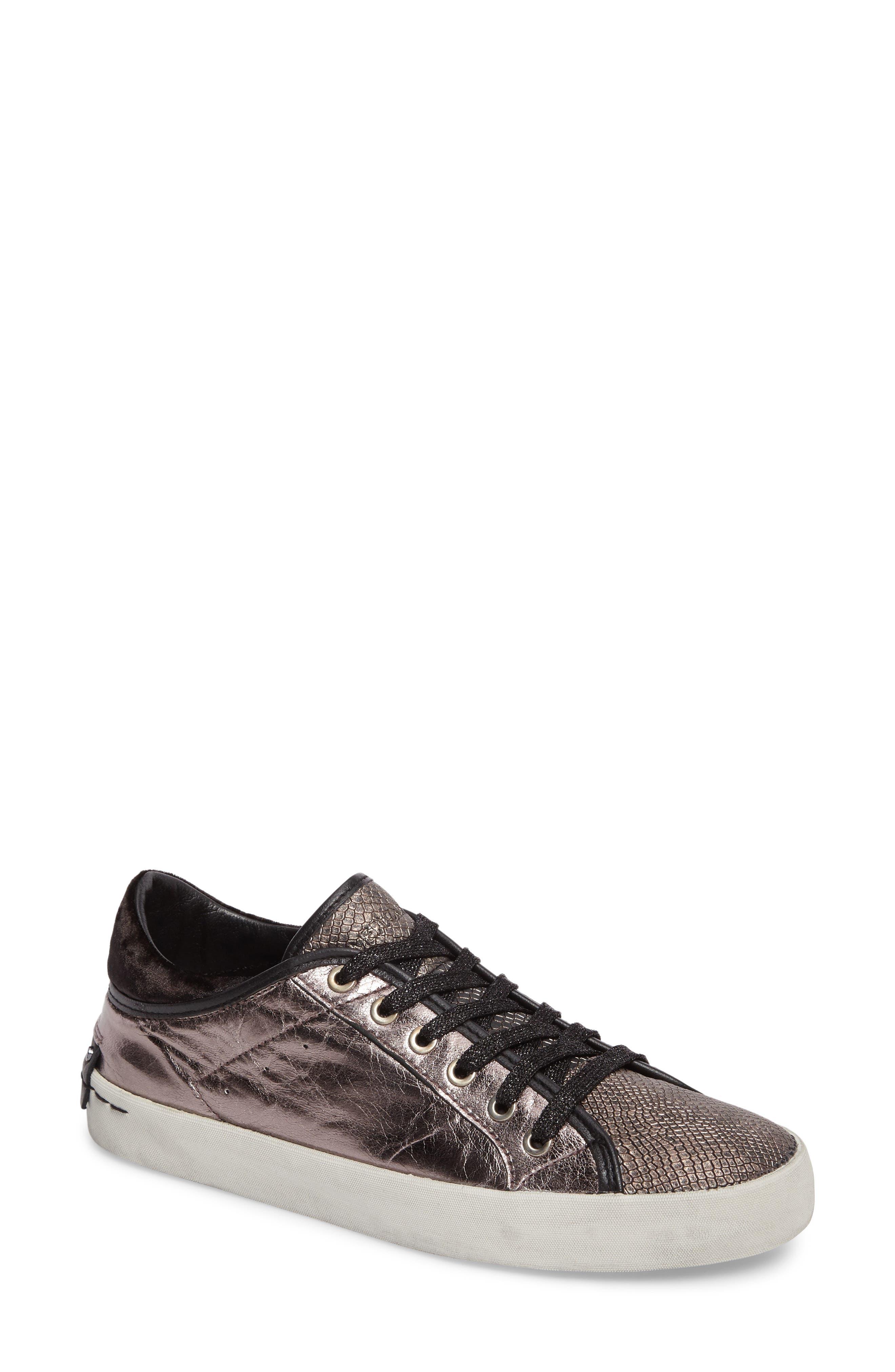 Faith Sneaker,                         Main,                         color, Silver - 23