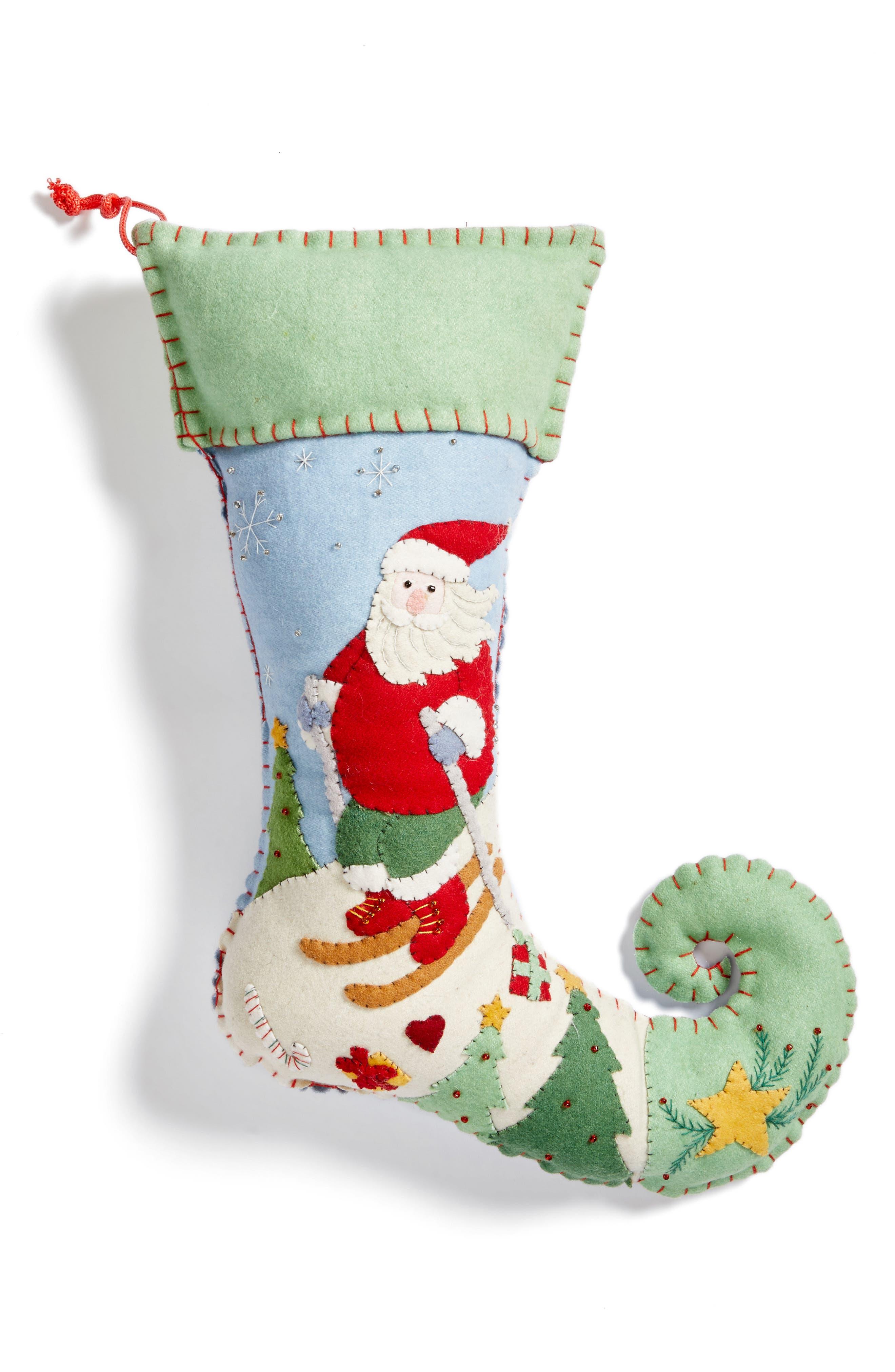 Alternate Image 1 Selected - New World Arts Santa Stocking