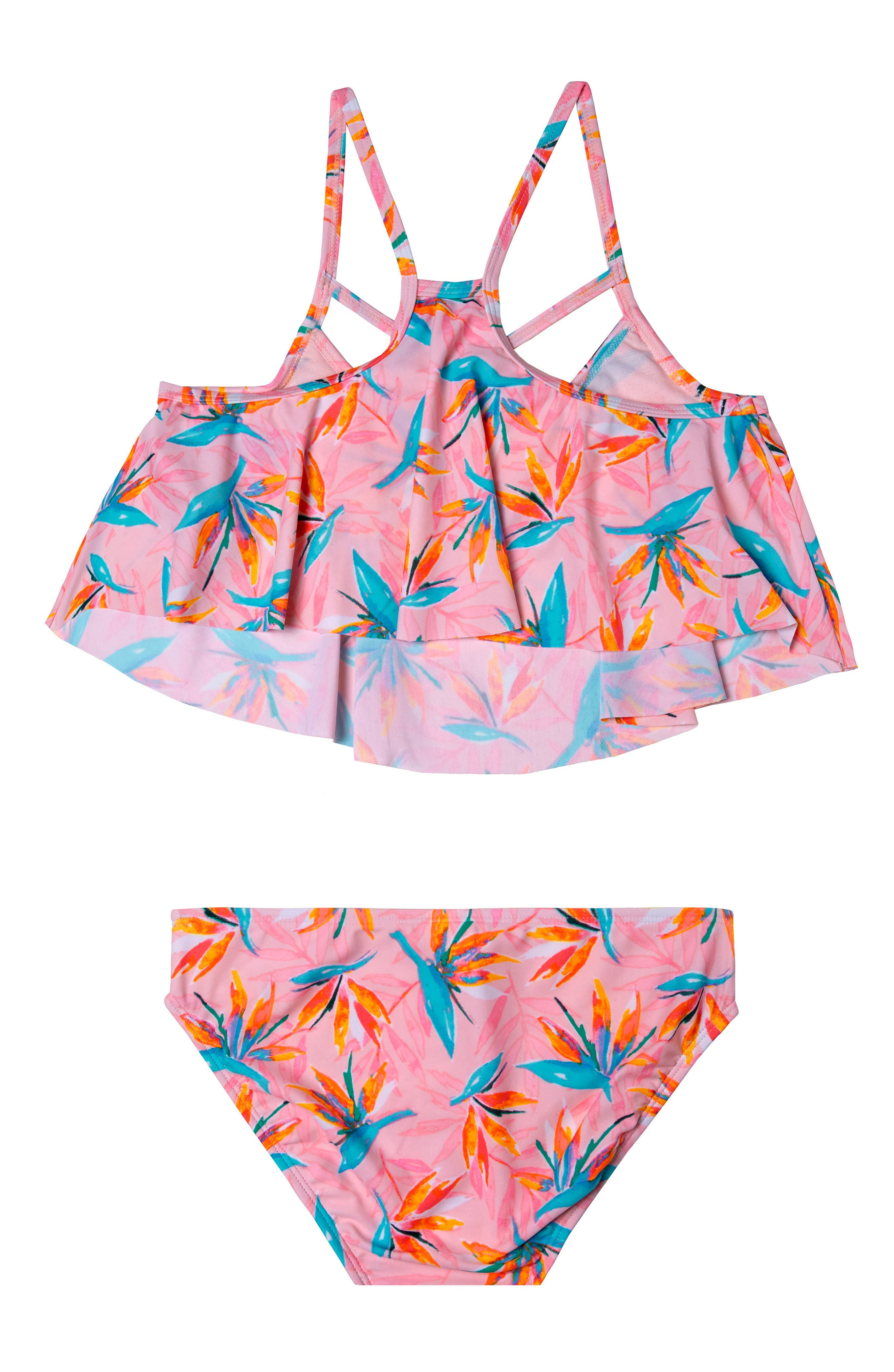 Paradise Haven Two-Piece Swimsuit,                             Alternate thumbnail 2, color,                             Pink