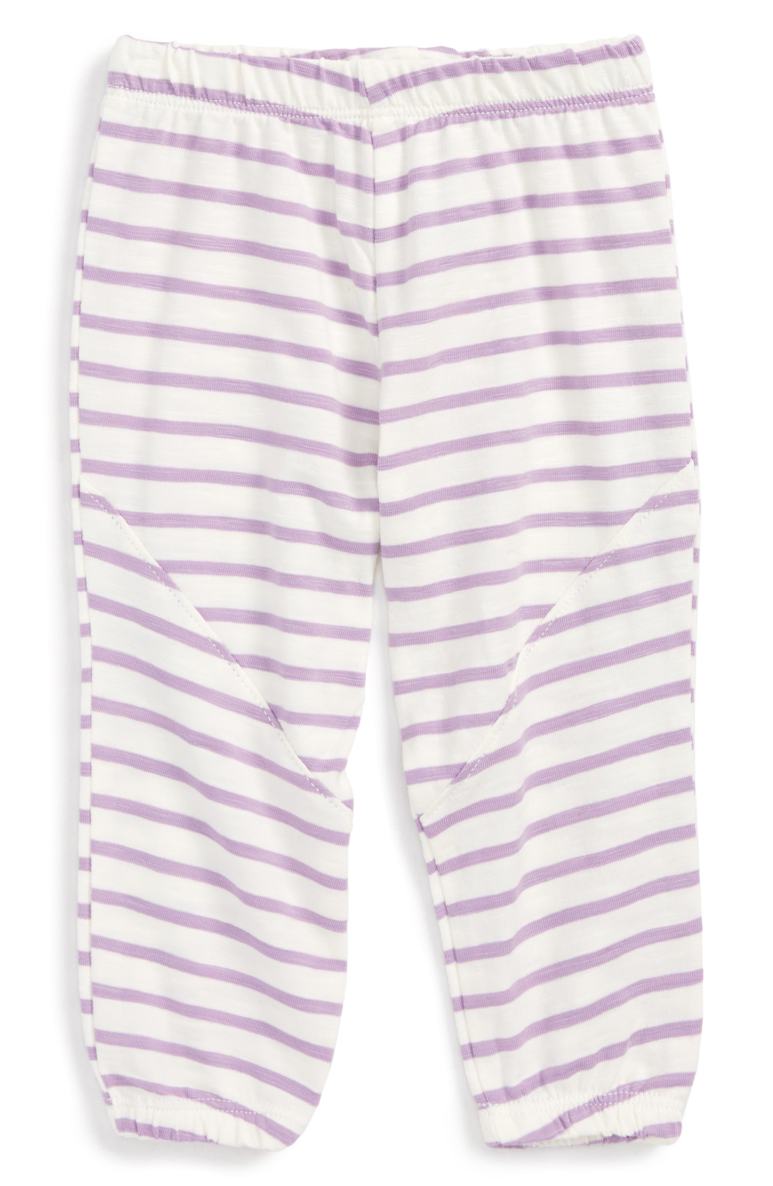Hatley Mini Stripe Leggings (Baby Girls)