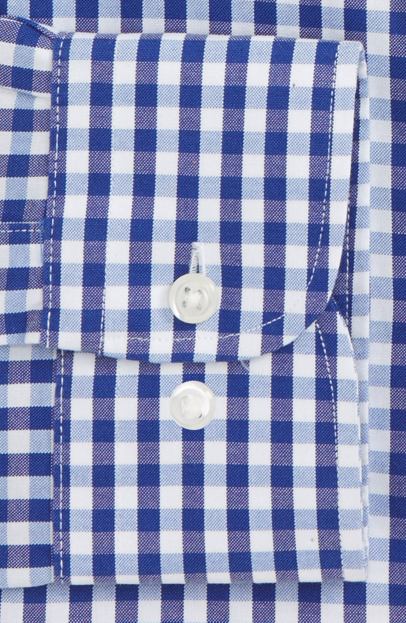 Alternate Image 2  - Nordstrom Men's Shop Smartcare™ Traditional Fit Check Dress Shirt