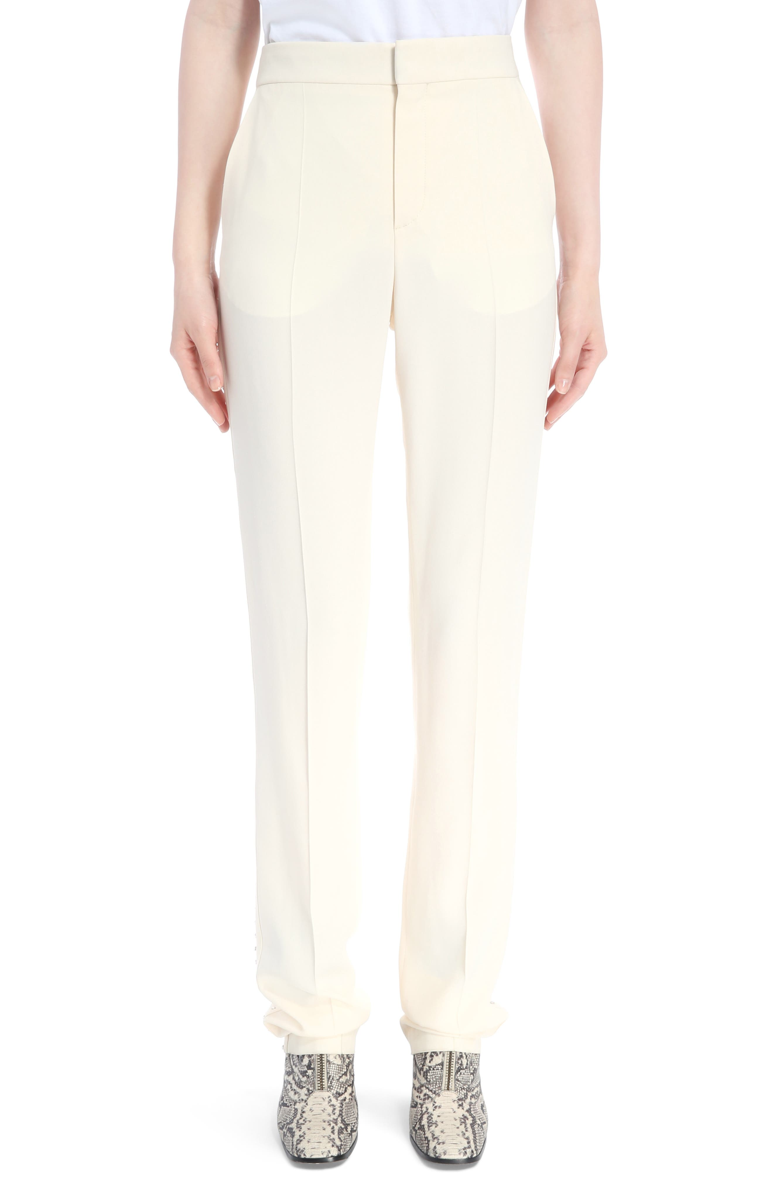 Main Image - Chloé Cady Straight Leg Pants