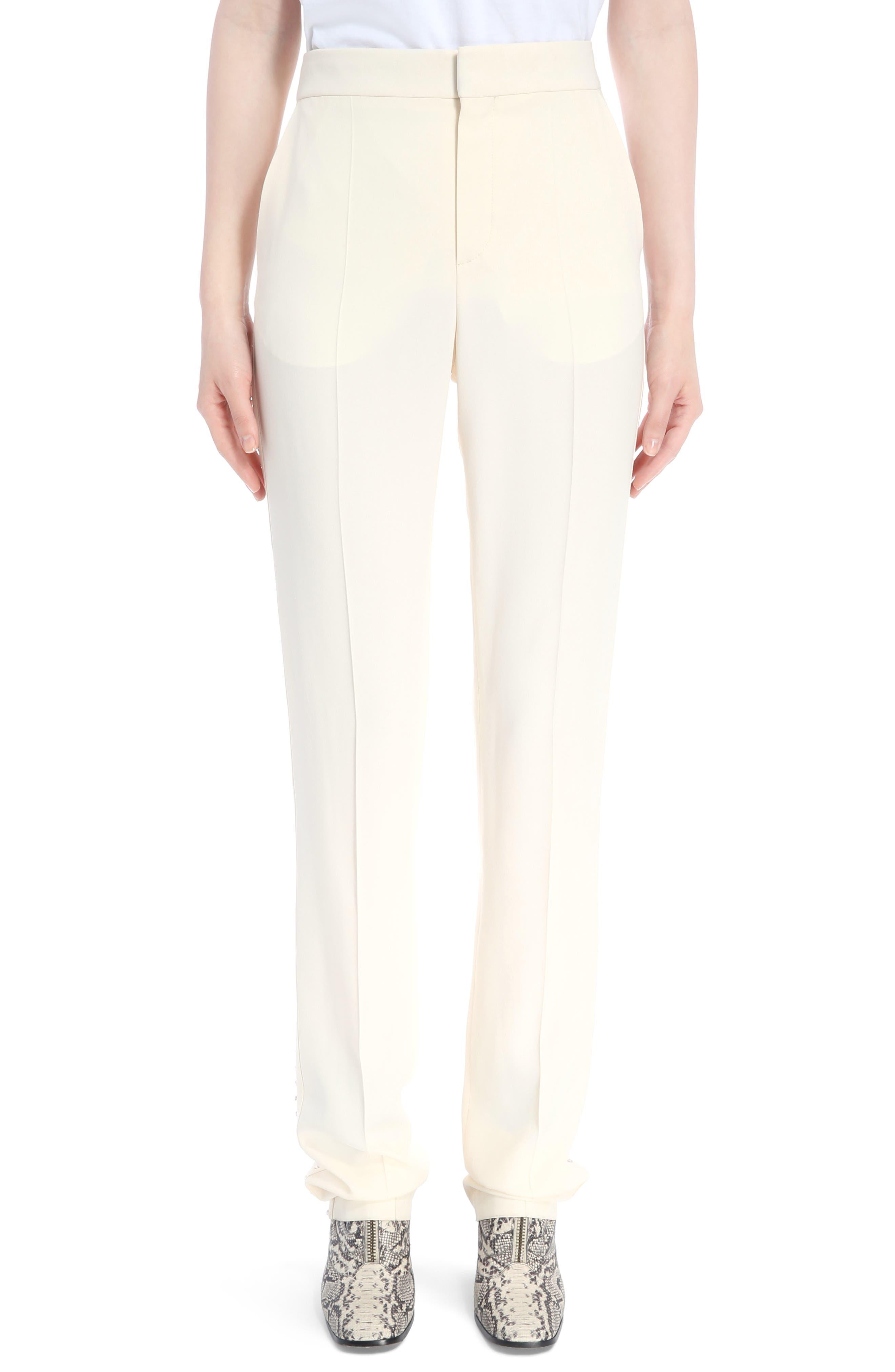 Chloé Cady Straight Leg Pants