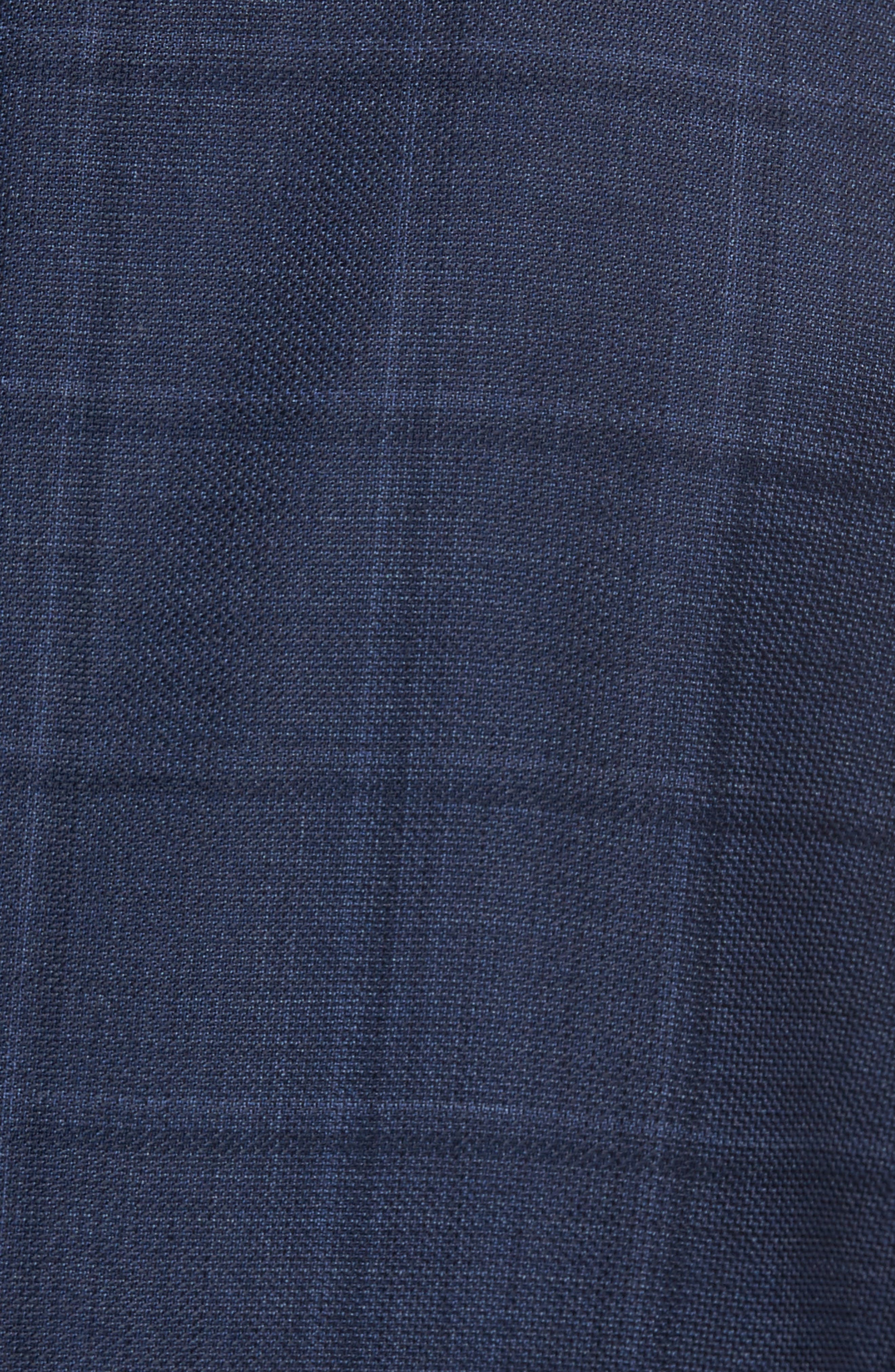 Alternate Image 5  - Pal Zileri Classic Fit Windowpane Wool Sport Coat
