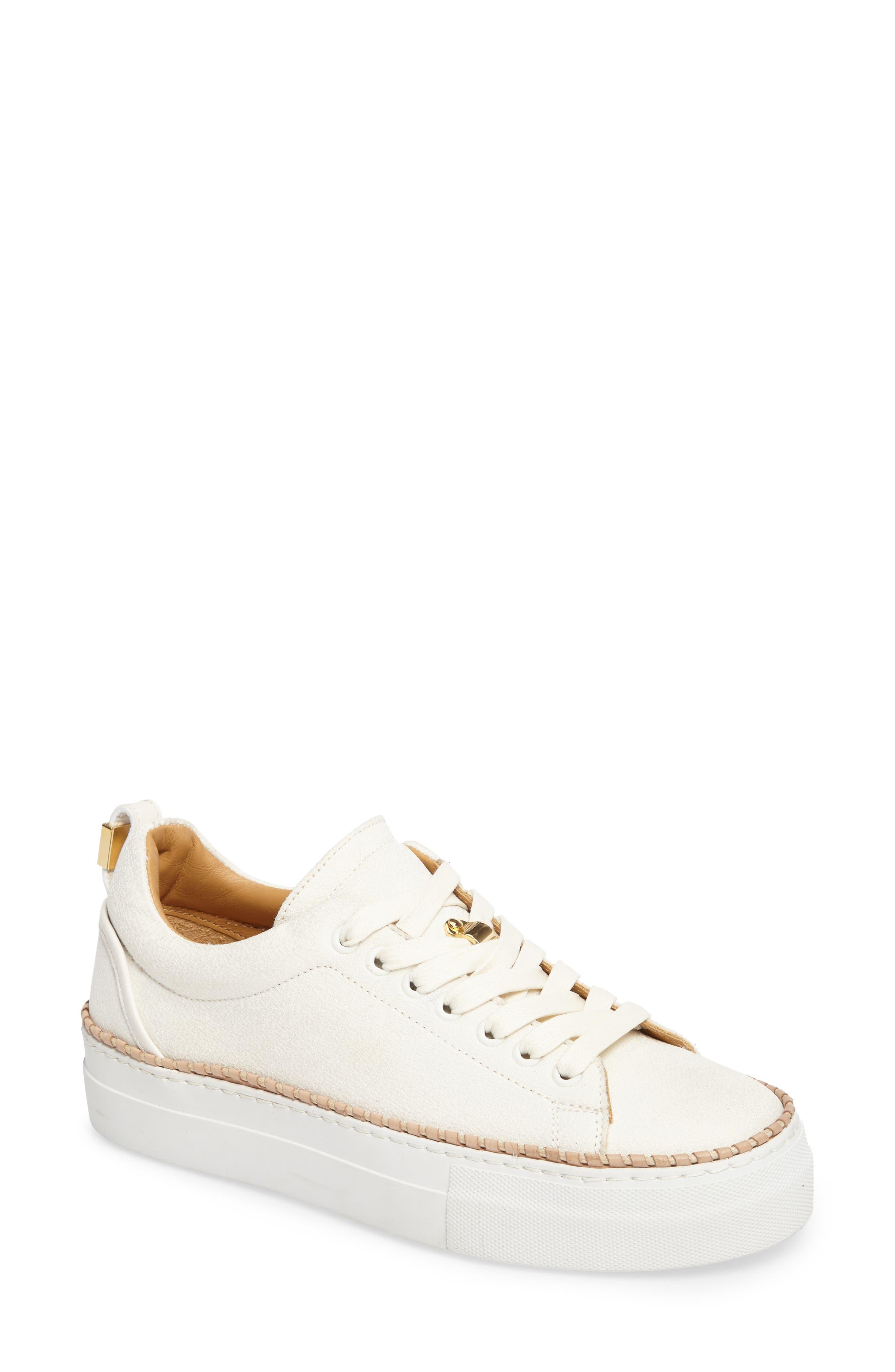 Alternate Image 1 Selected - Buscemi Tennis Crepone Sneaker (Women)