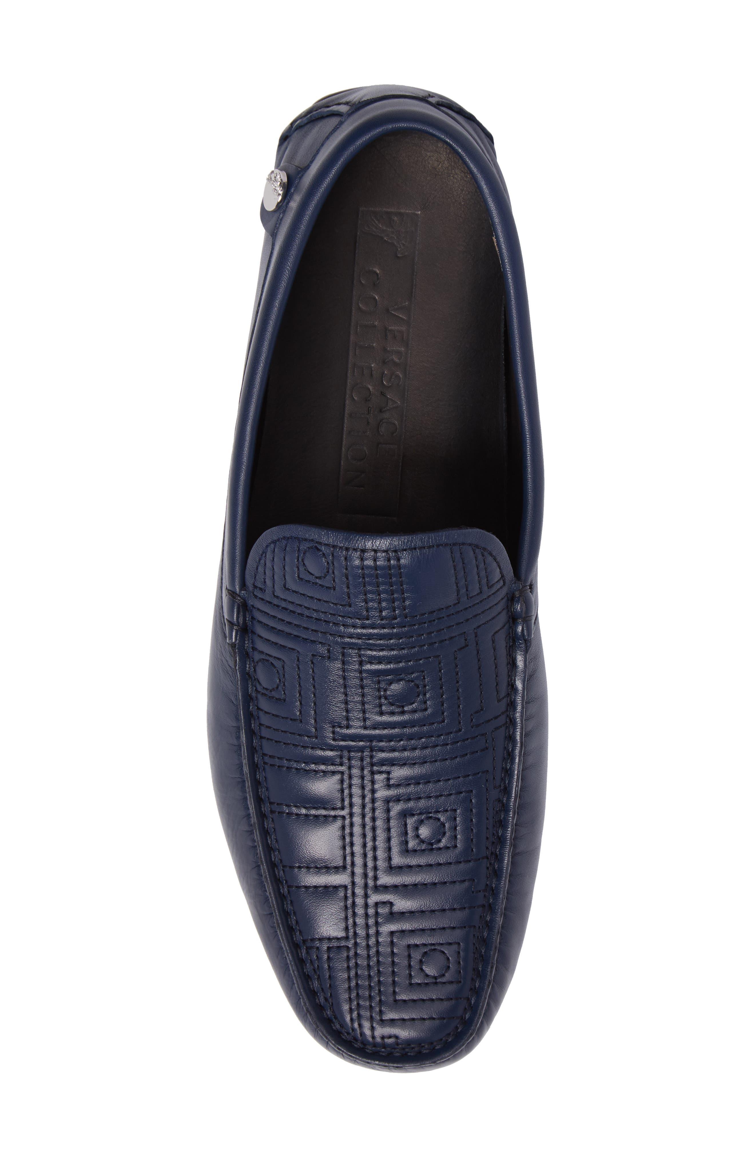Alternate Image 5  - Versace Collection Art Deco Driving Shoe (Men)
