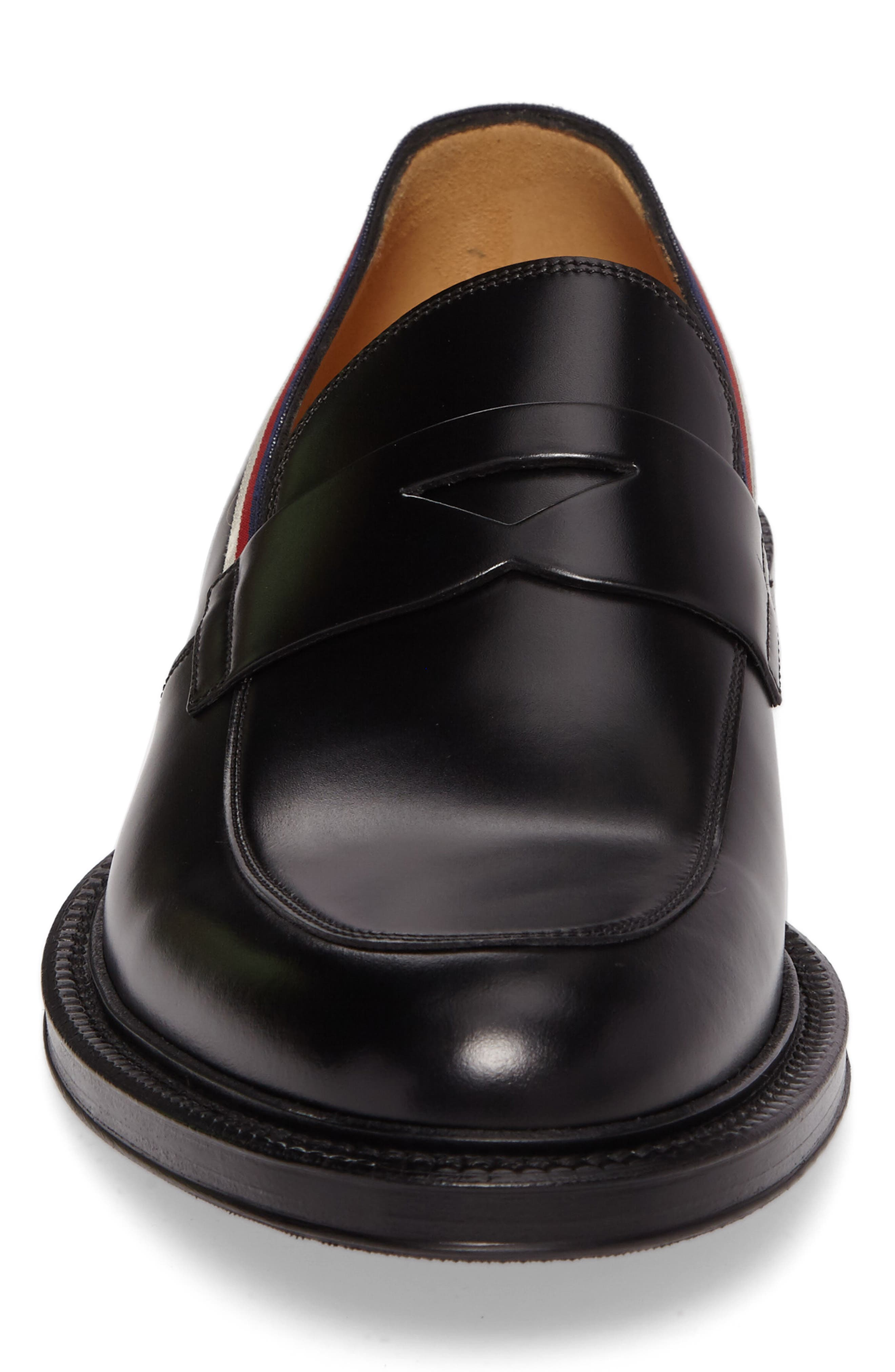 Beyond Penny Loafer,                             Alternate thumbnail 4, color,                             Black