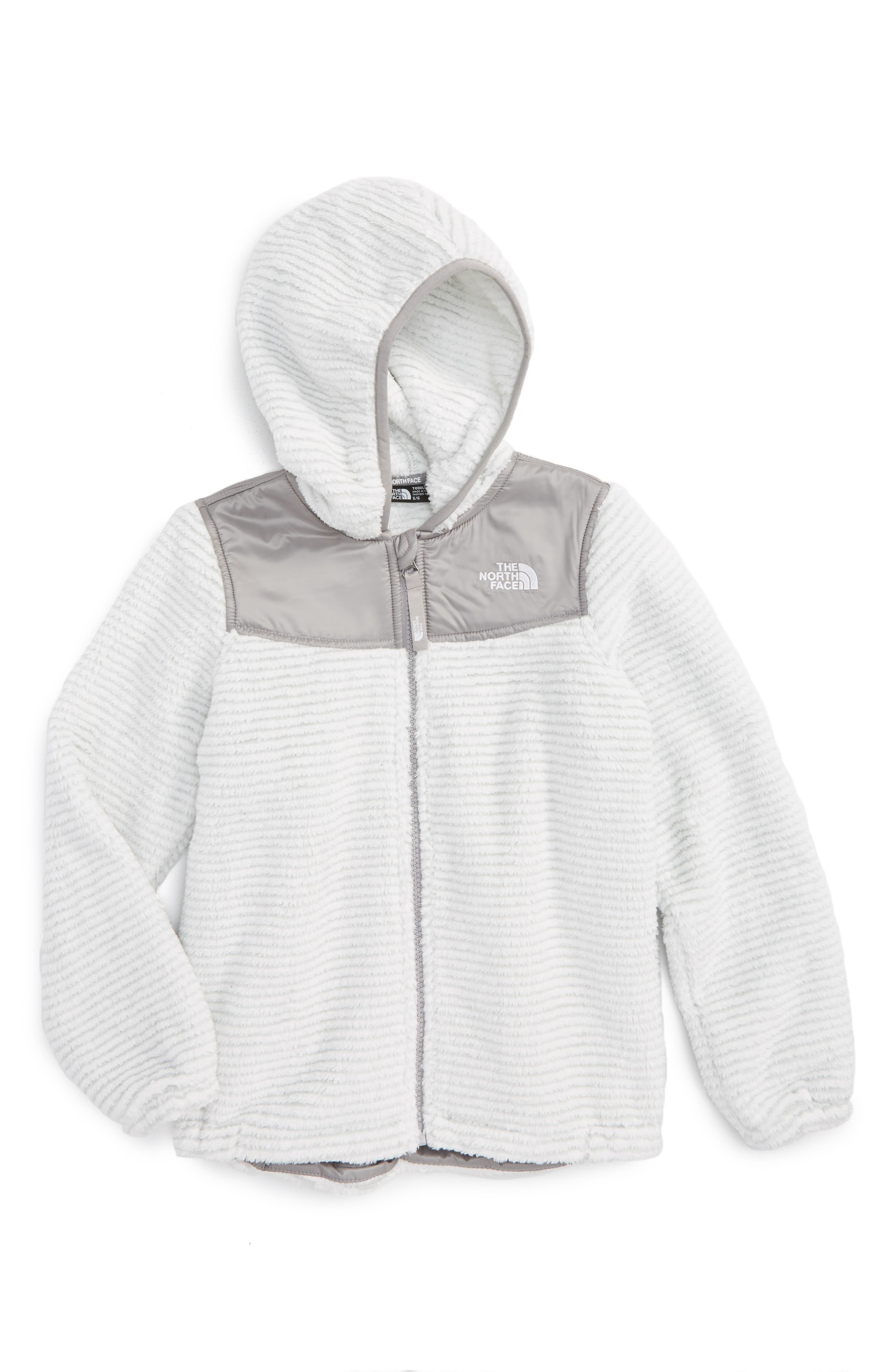 Main Image - The North Face Oso Fleece Hoodie (Toddler Girls & Little Girls)