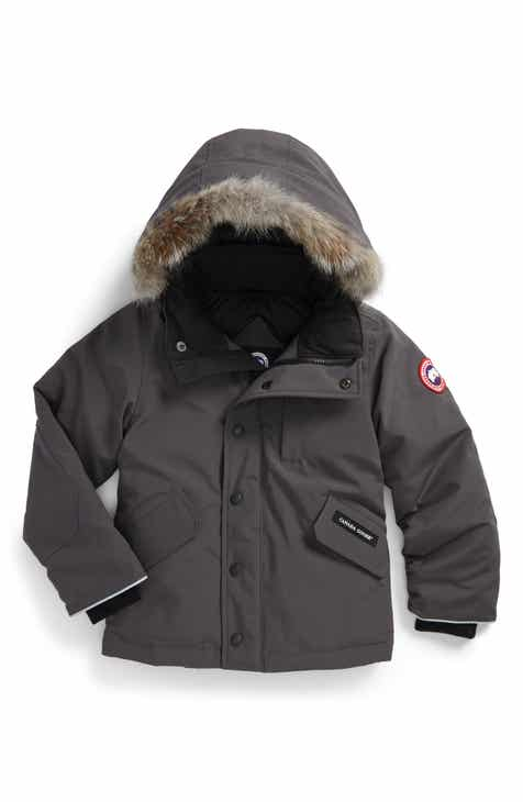 Canada Goose  Logan  Down Parka with Genuine Coyote Fur Trim (Little Kid    Big Kid) 56367a3849d8