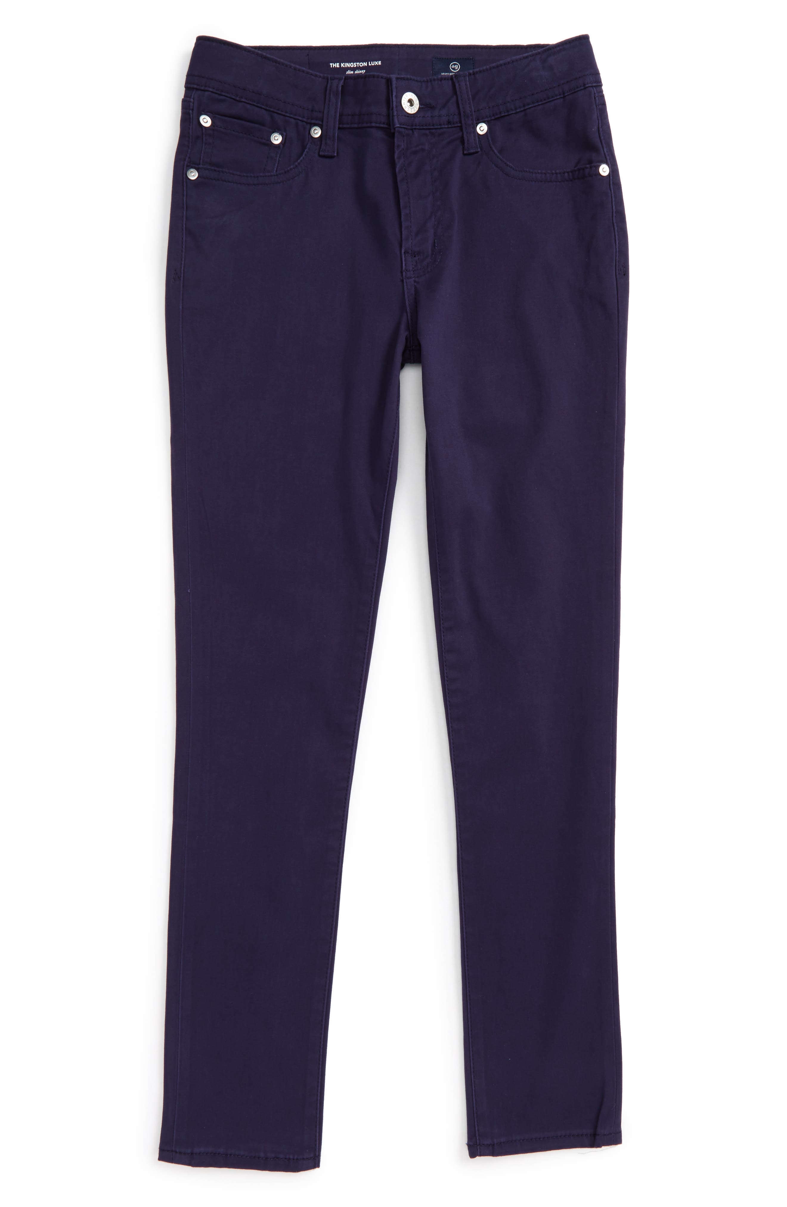 The Kingston Luxe Slim Jeans,                         Main,                         color, Blue Book