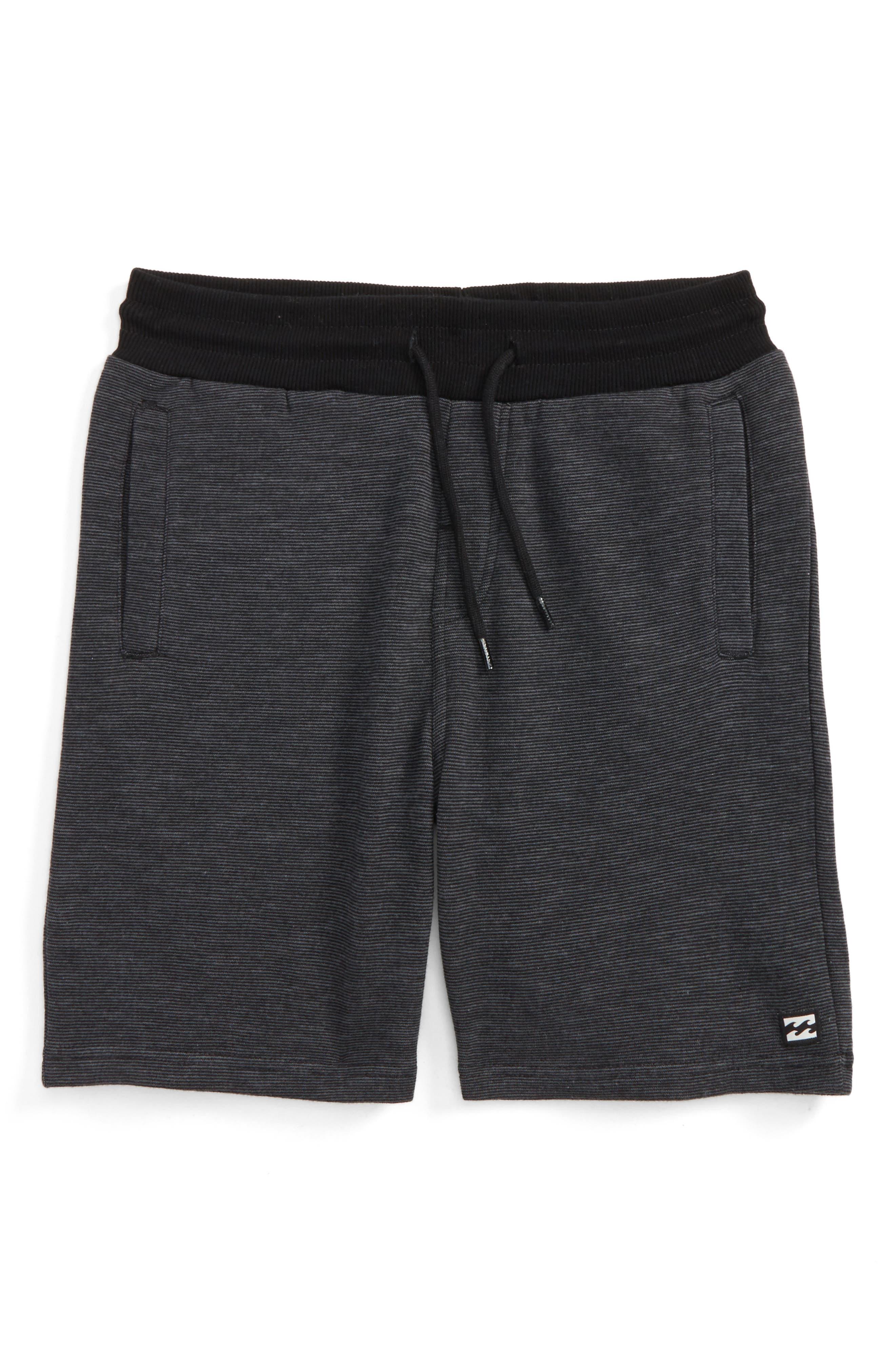 Balance Shorts,                             Main thumbnail 1, color,                             Black Heather
