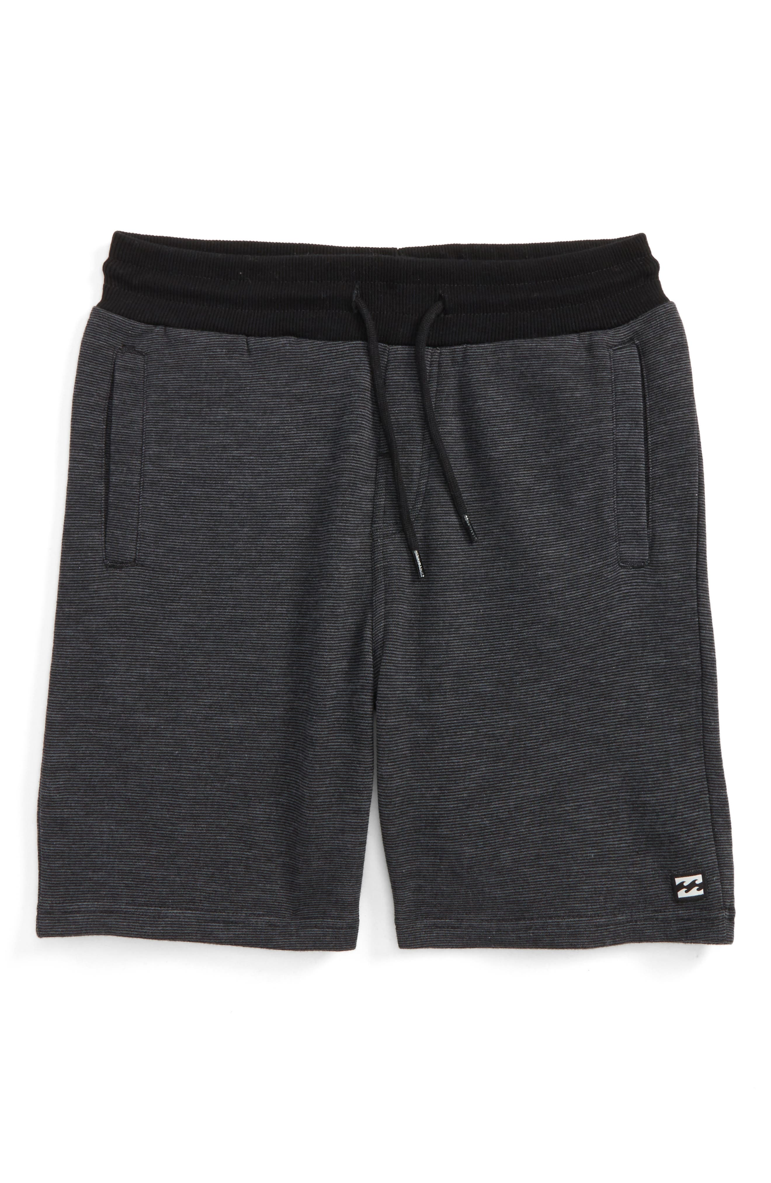 Balance Shorts,                         Main,                         color, Black Heather