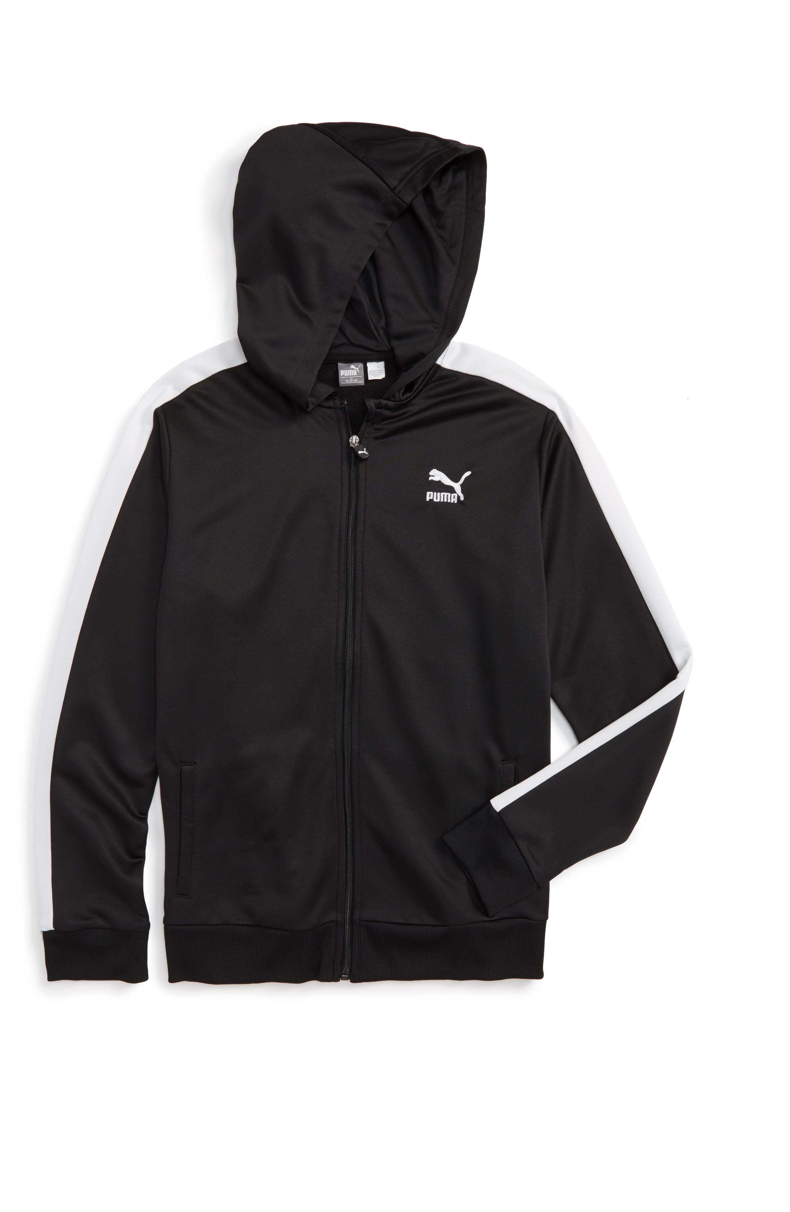 PUMA T7 Zip Hoodie (Little Boys & Big Boys)