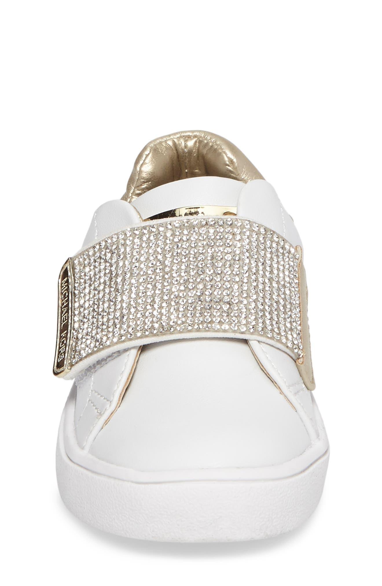 Alternate Image 4  - MICHAEL Michael Kors Ivy Candy Sneaker (Walker, Toddler, Little Kid & Big Kid)