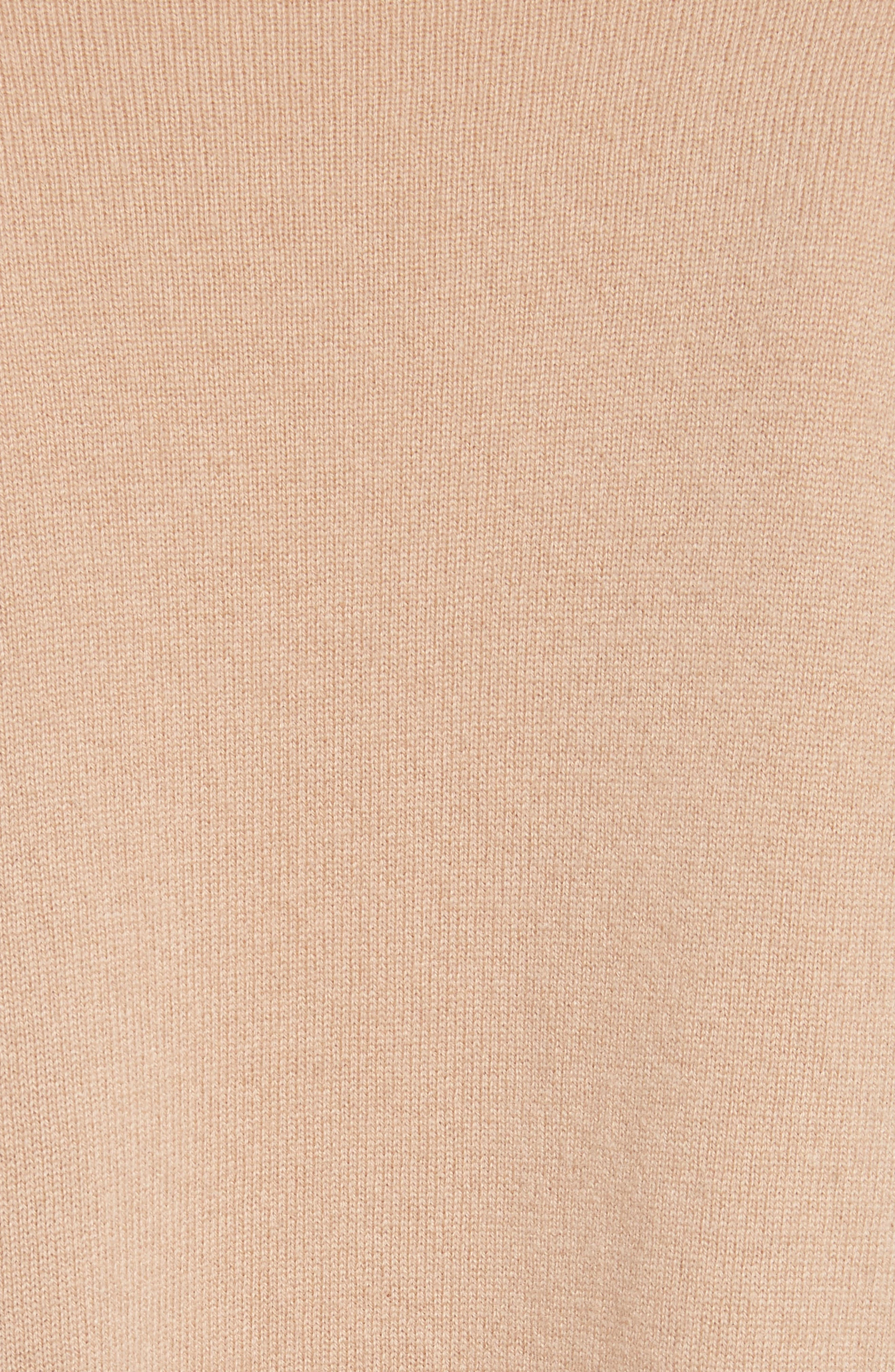 Canter Cashmere Turtleneck,                             Alternate thumbnail 5, color,                             Camel/ Ivory/ Black