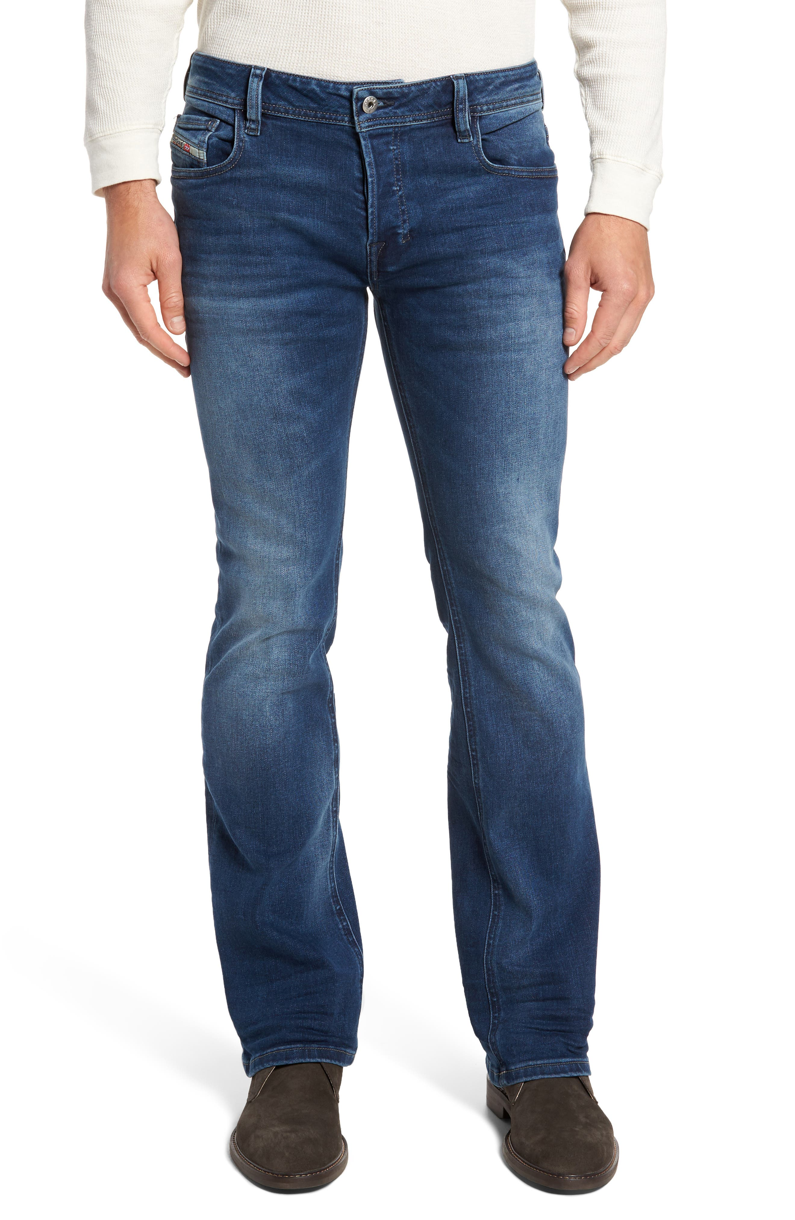 Alternate Image 1 Selected - DIESEL® Zatiny Bootcut Jeans (84HV)