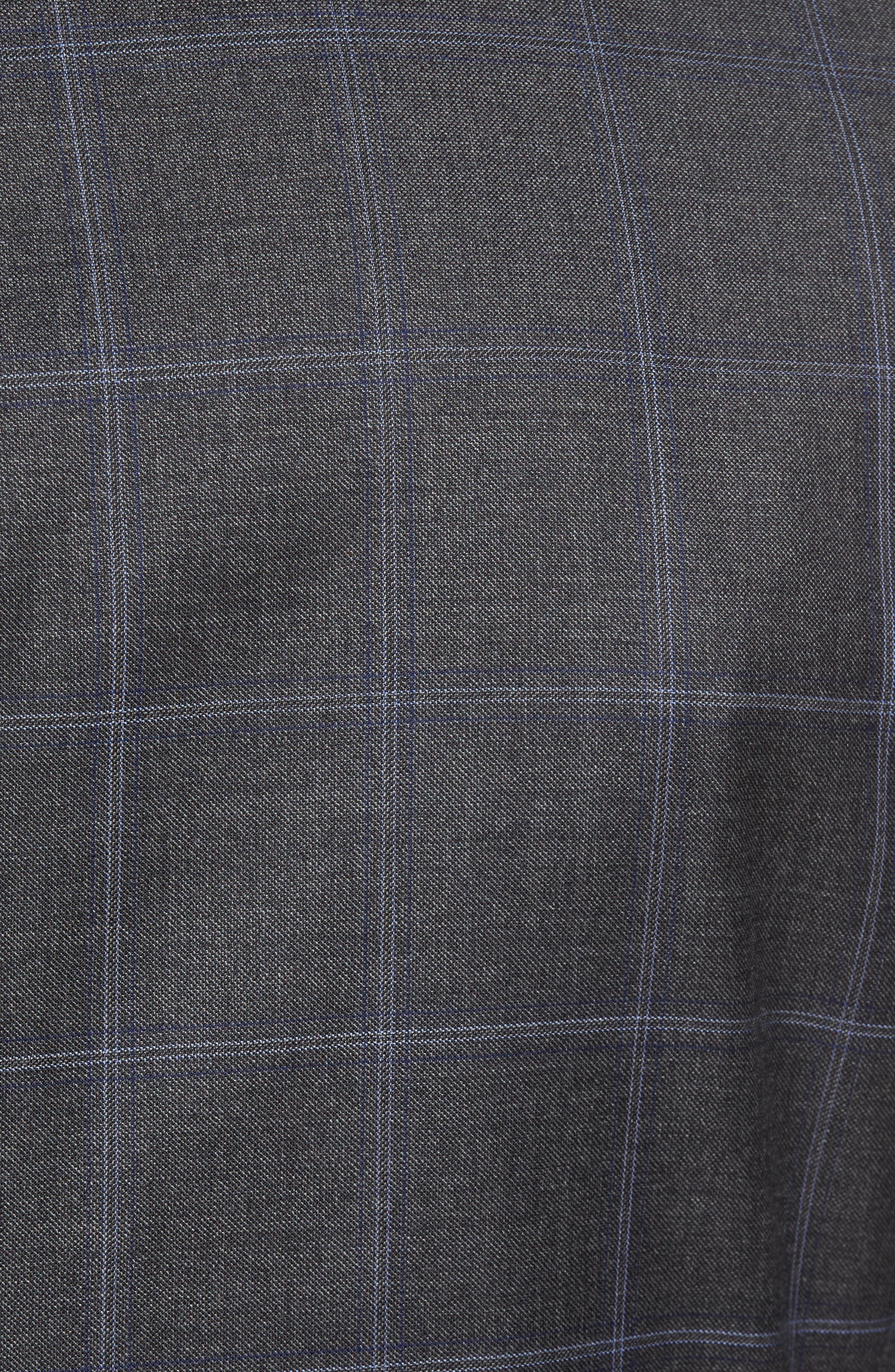 Alternate Image 7  - Hart Schaffner Marx Classic Fit Plaid Wool Suit