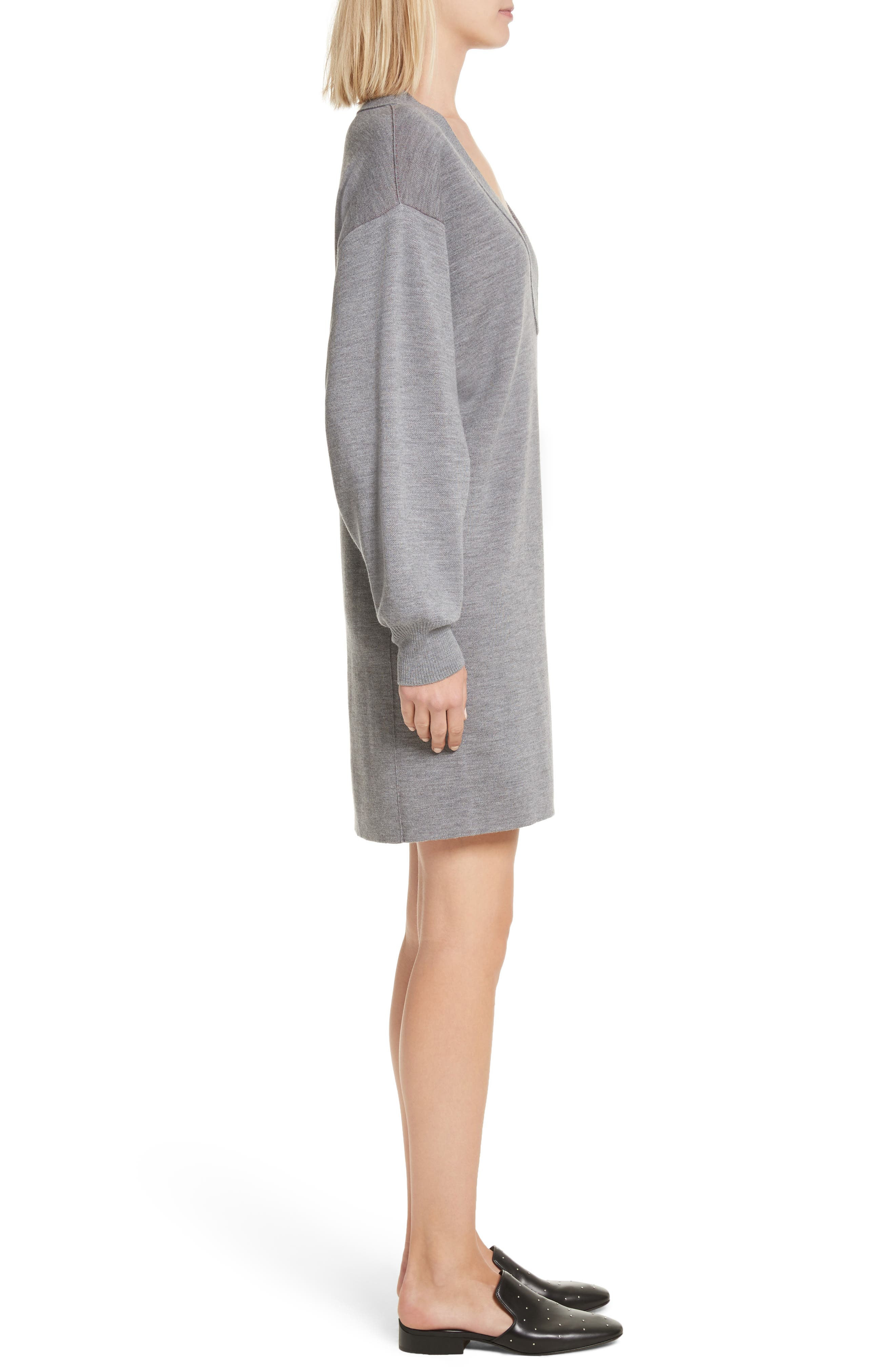 Alternate Image 3  - rag & bone Saralyn Merino Wool Blend Sweater Dress